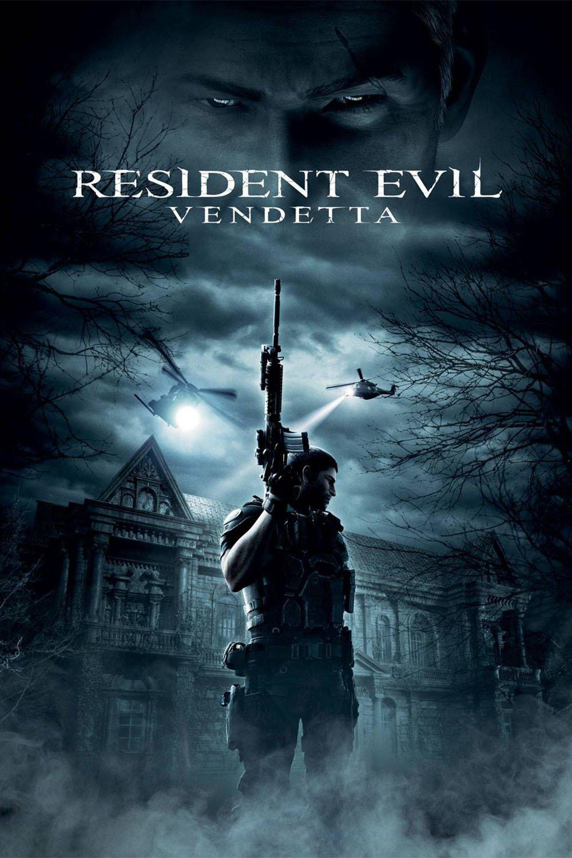 """Poster for the movie """"Resident Evil: Vendetta"""""""