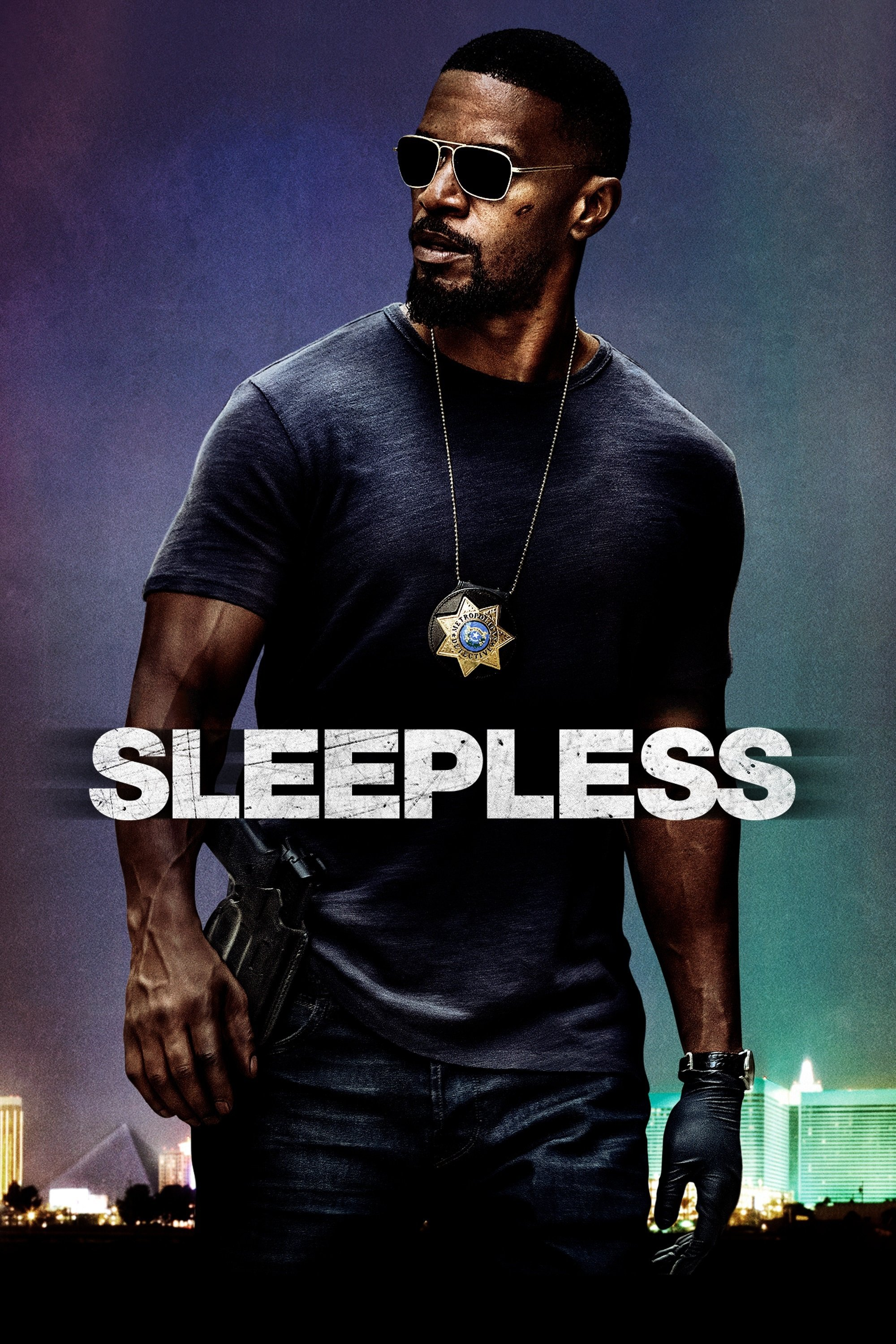 """Poster for the movie """"Sleepless"""""""