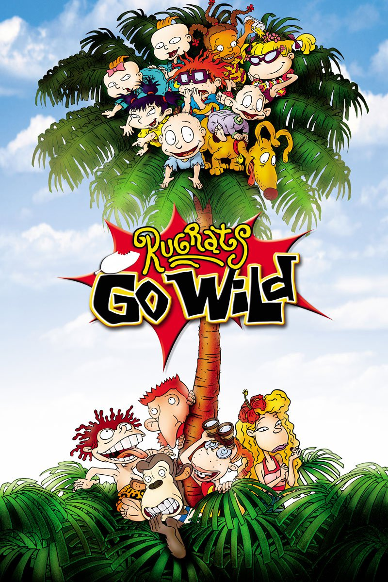 "Poster for the movie ""Rugrats Go Wild"""