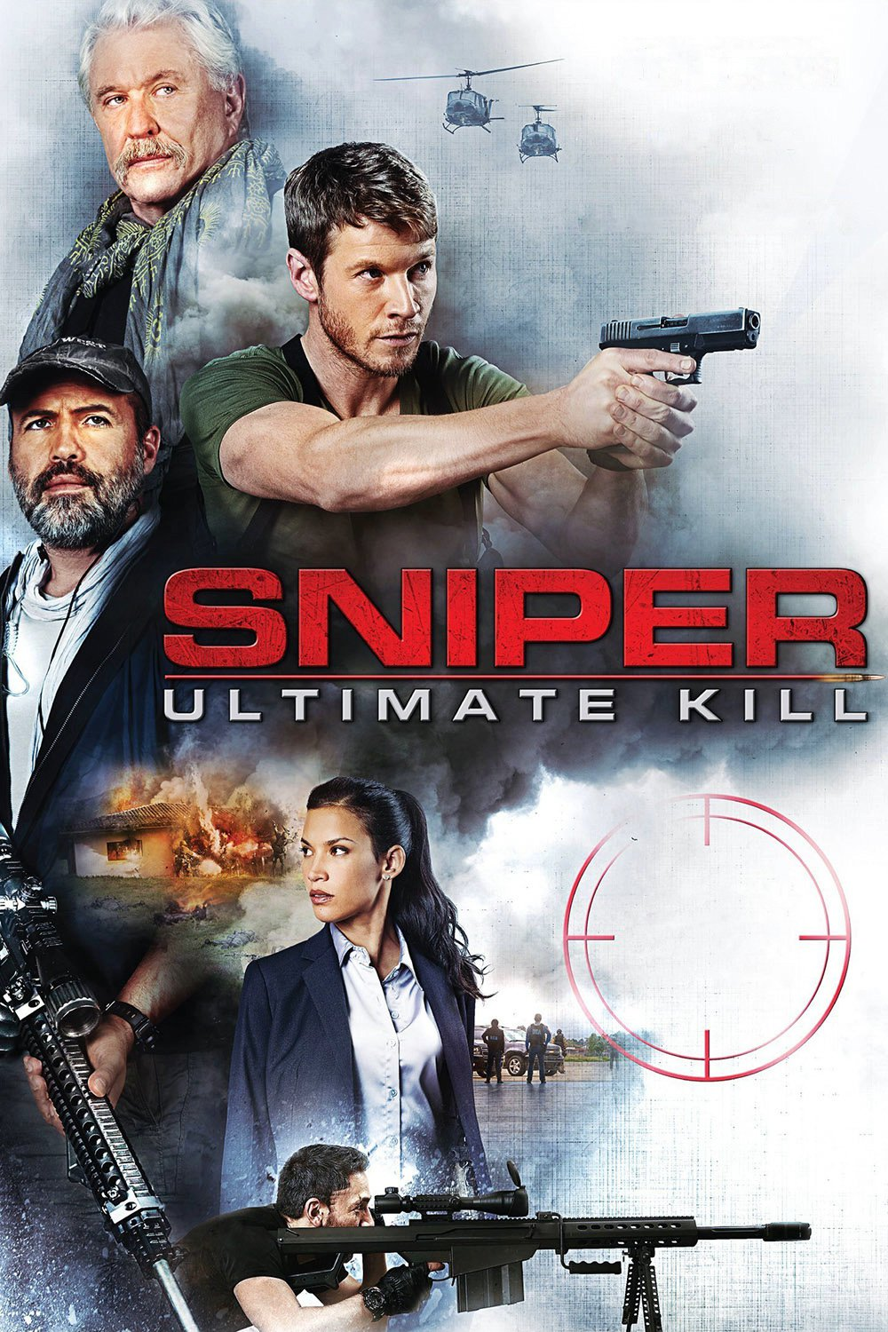 """Poster for the movie """"Sniper: Ultimate Kill"""""""
