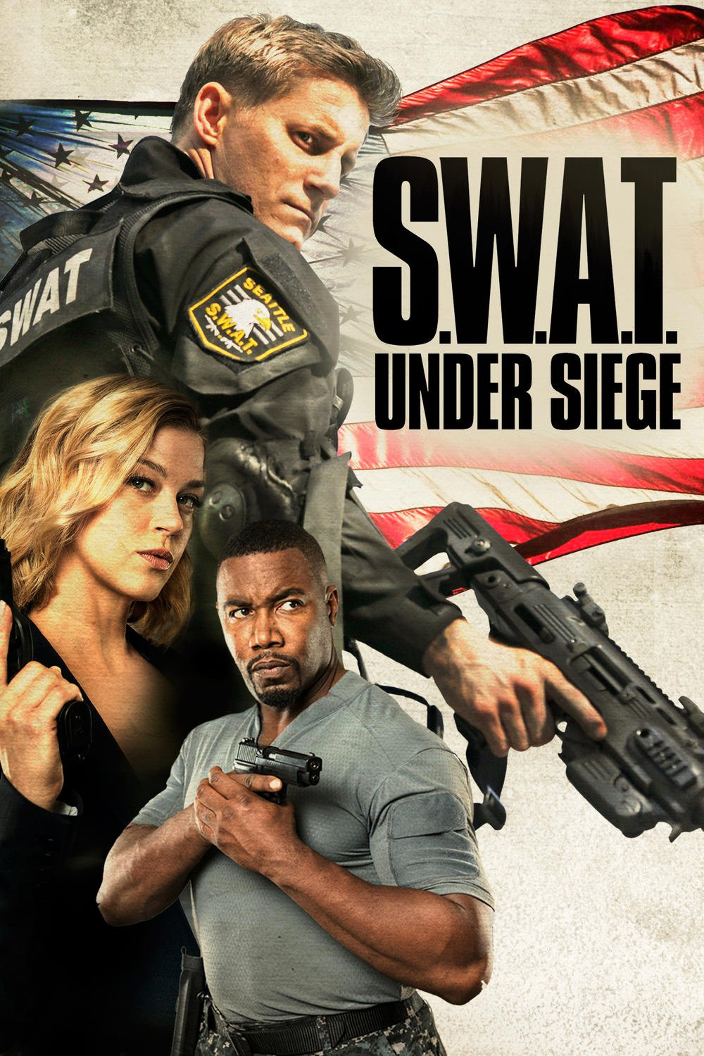 """Poster for the movie """"S.W.A.T.: Under Siege"""""""