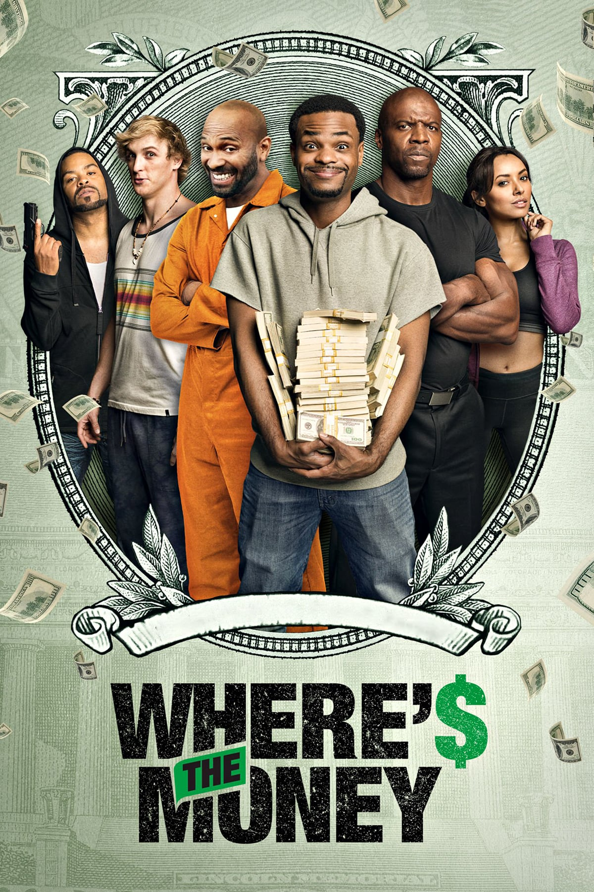 "Poster for the movie ""Where's The Money?"""
