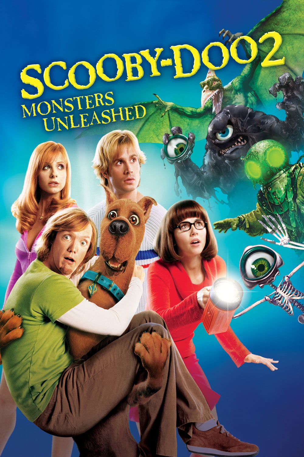 "Poster for the movie ""Scooby-Doo 2: Monsters Unleashed"""