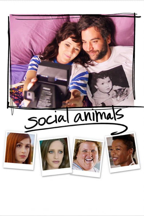"""Poster for the movie """"Social Animals"""""""