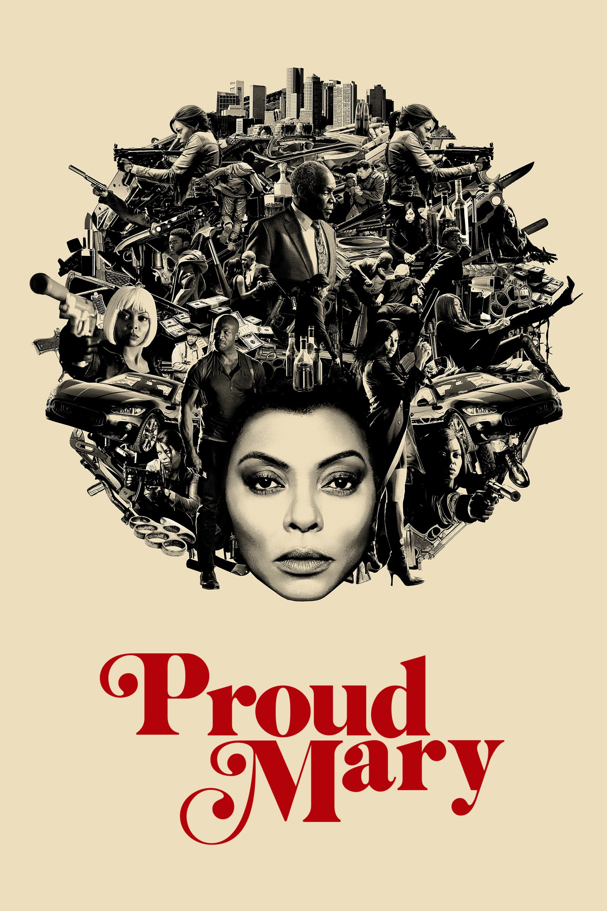 "Poster for the movie ""Proud Mary"""