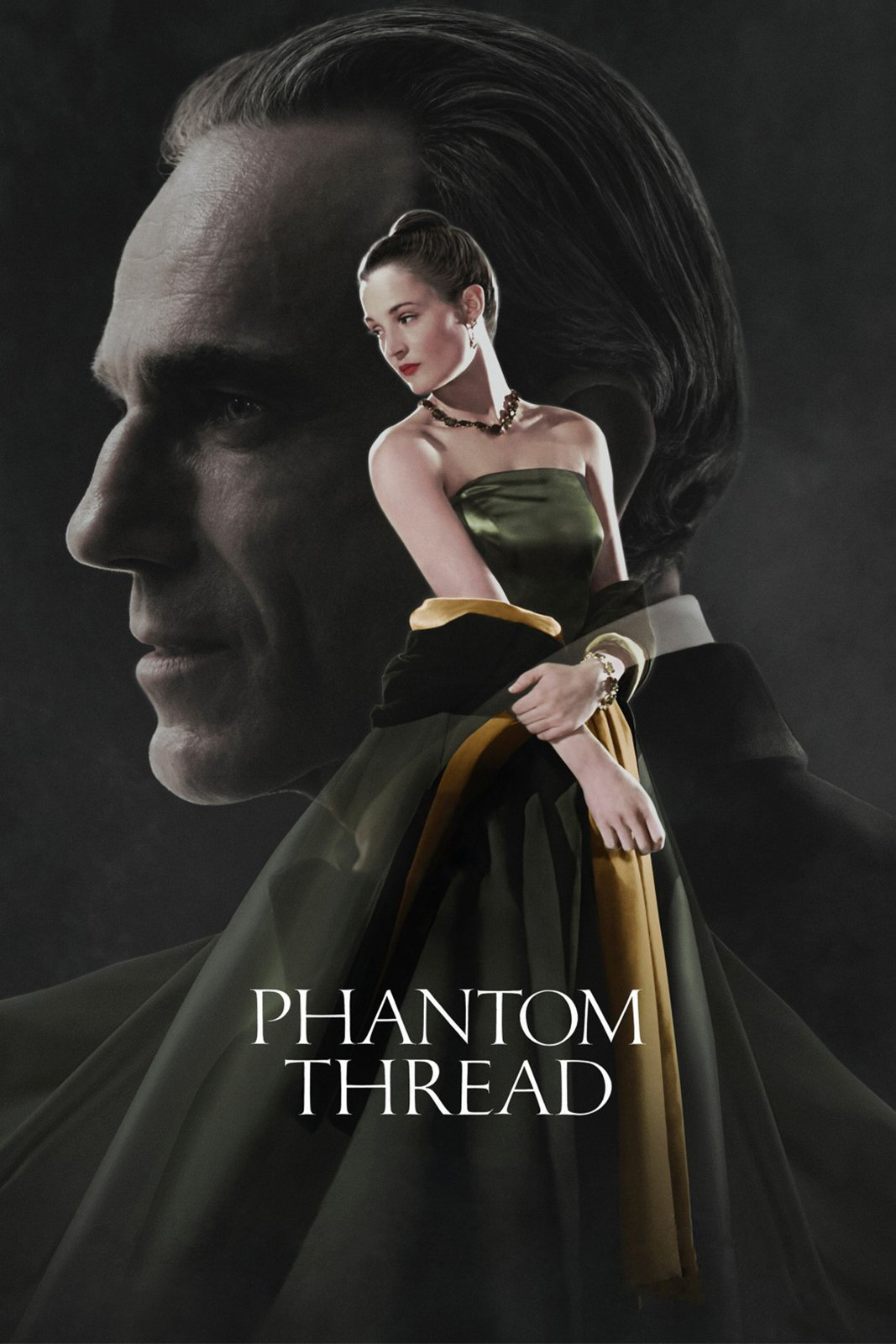 "Poster for the movie ""Phantom Thread"""