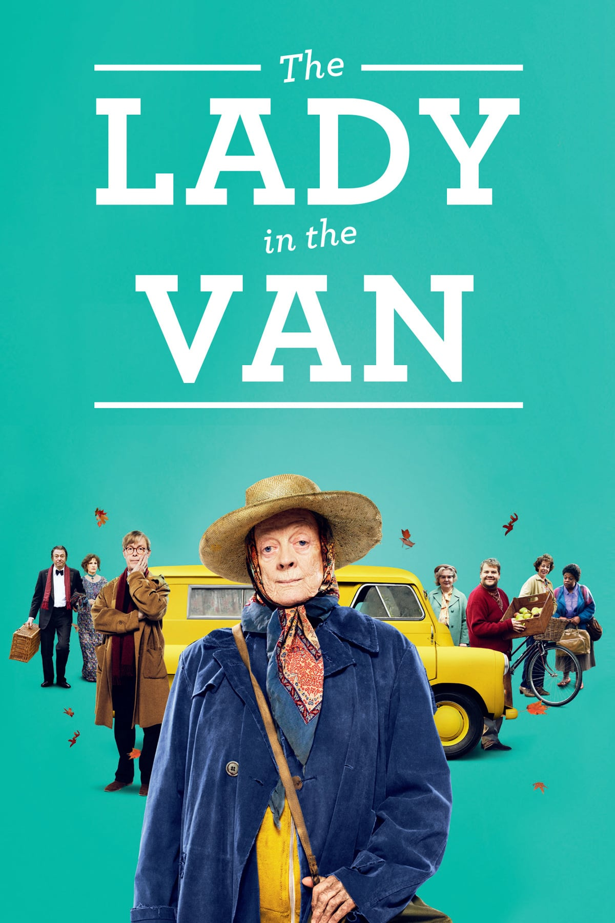 """Poster for the movie """"The Lady in the Van"""""""