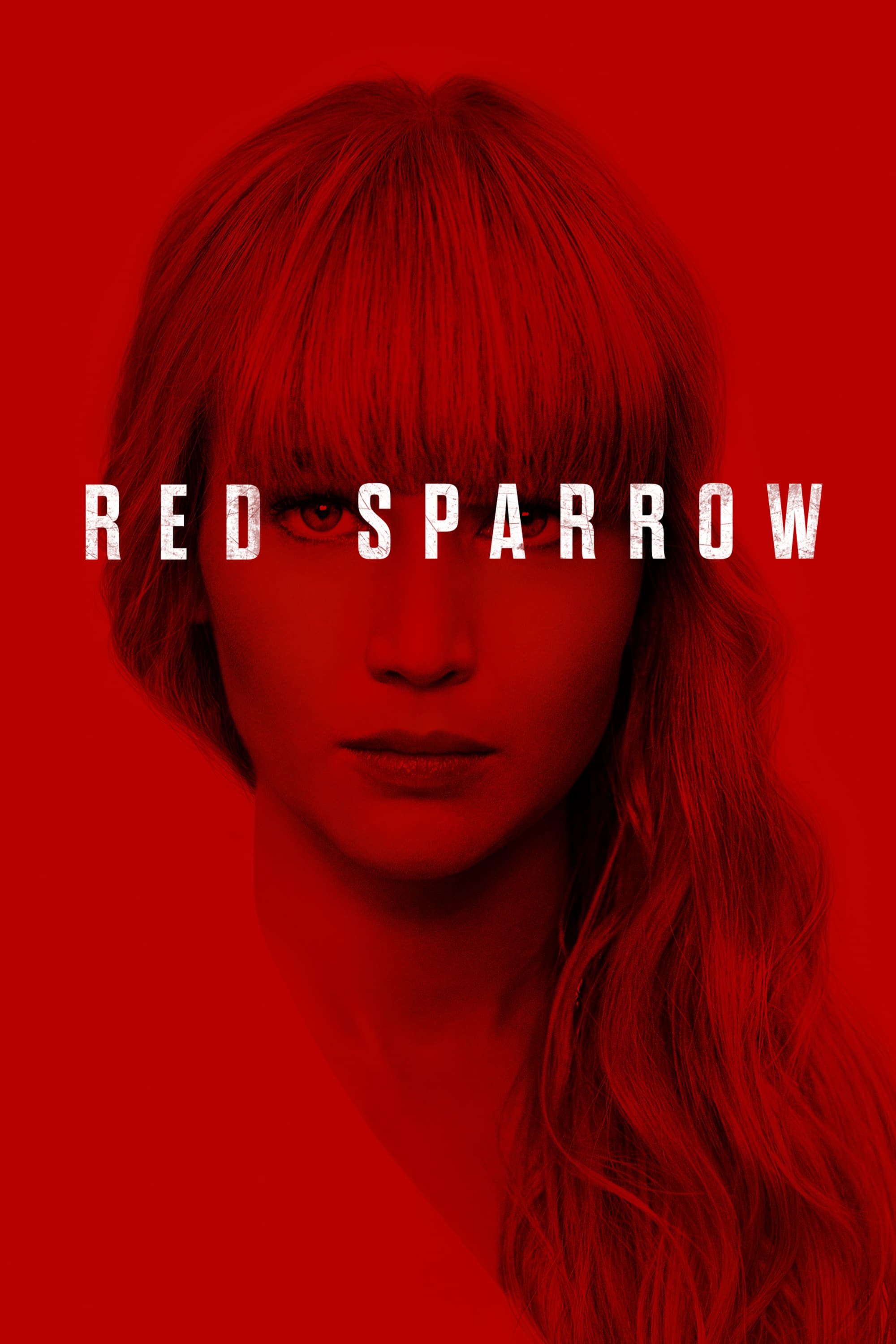 "Poster for the movie ""Red Sparrow"""