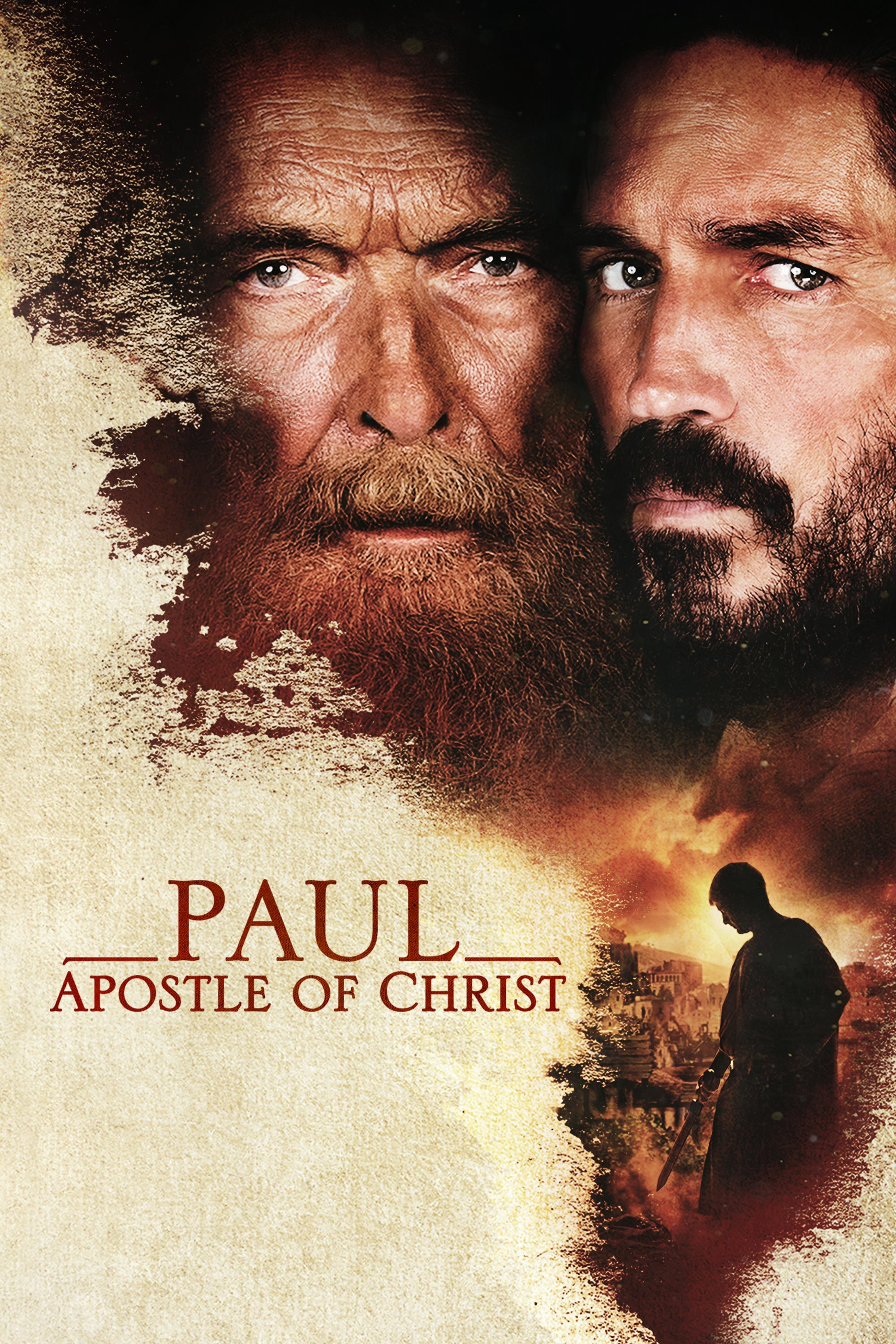 "Poster for the movie ""Paul, Apostle of Christ"""