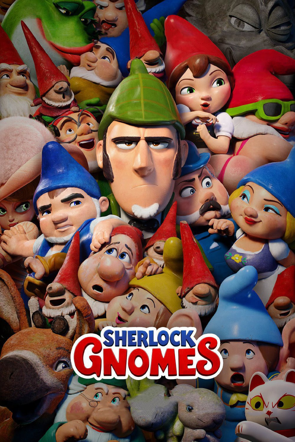 "Poster for the movie ""Sherlock Gnomes"""