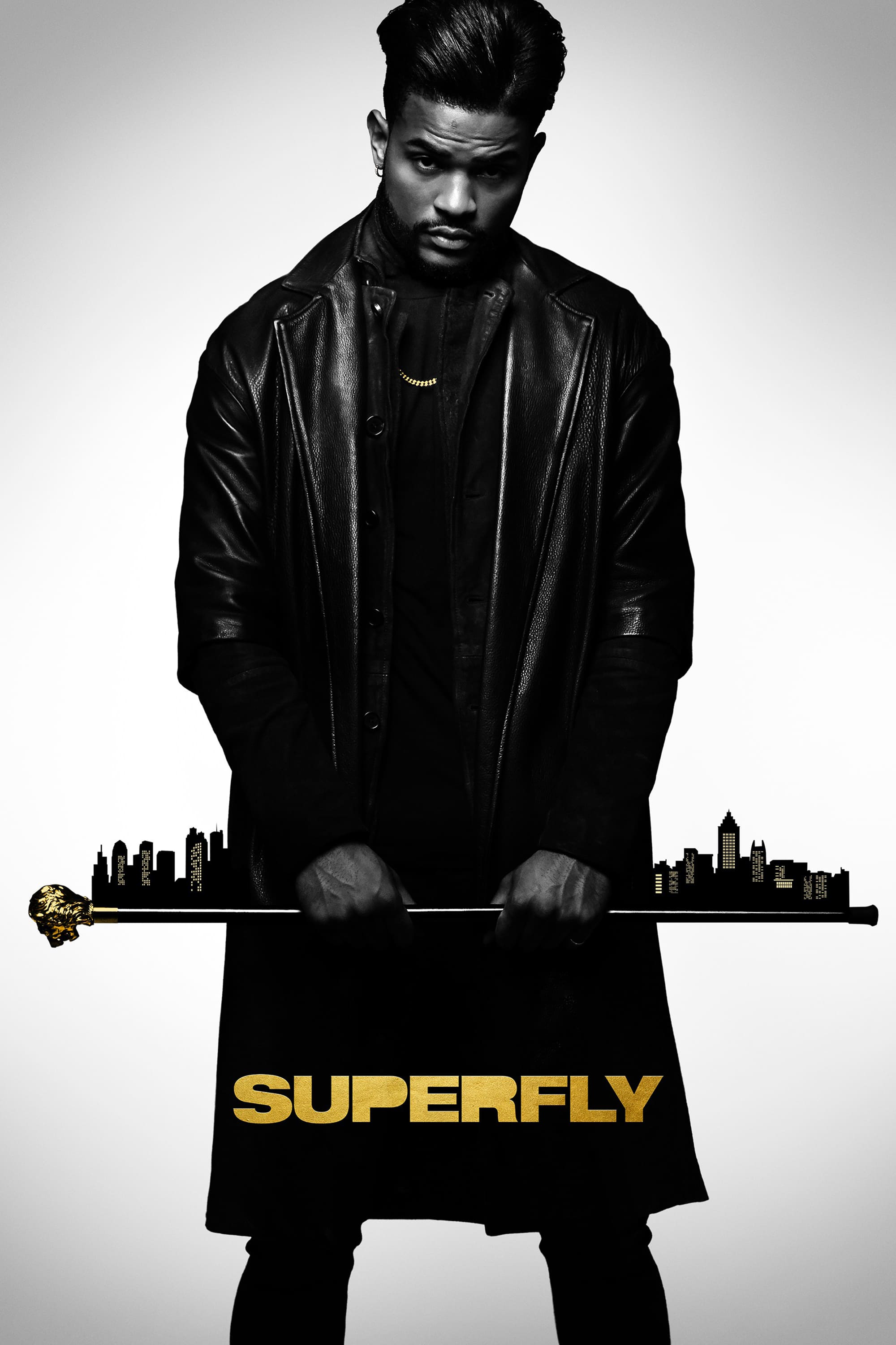 "Poster for the movie ""SuperFly"""