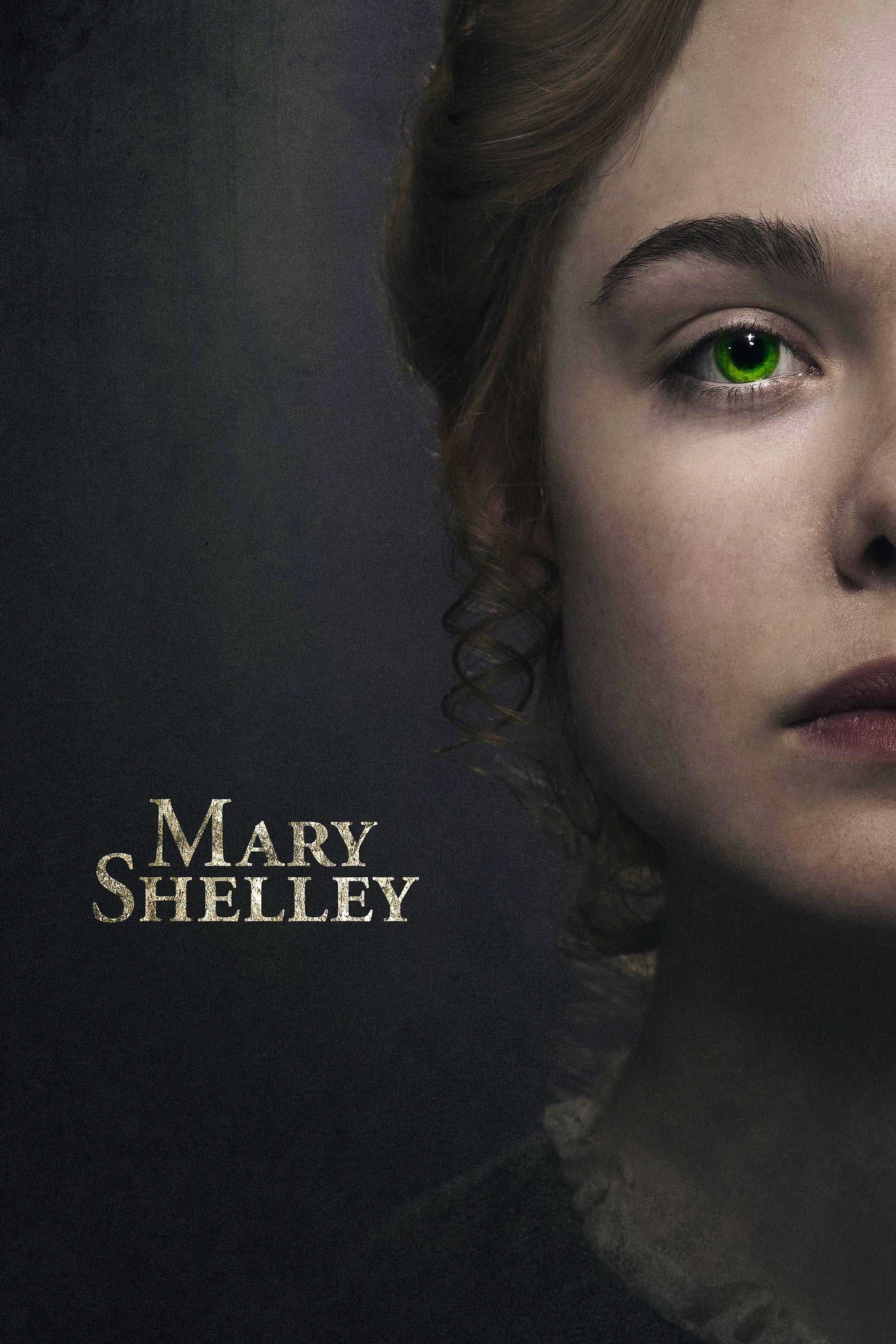 "Poster for the movie ""Mary Shelley"""