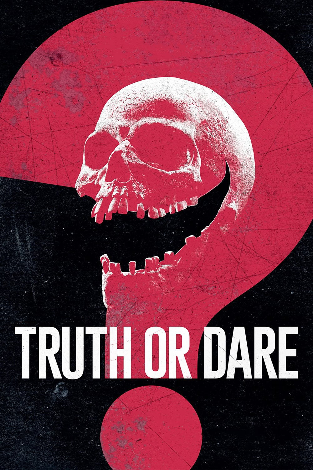 "Poster for the movie ""Truth or Dare"""