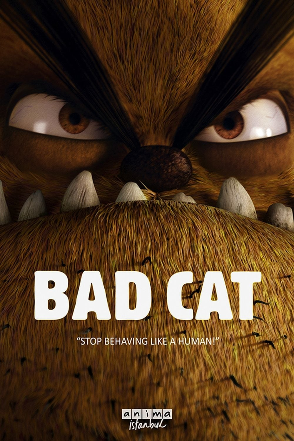"Poster for the movie ""Bad Cat"""