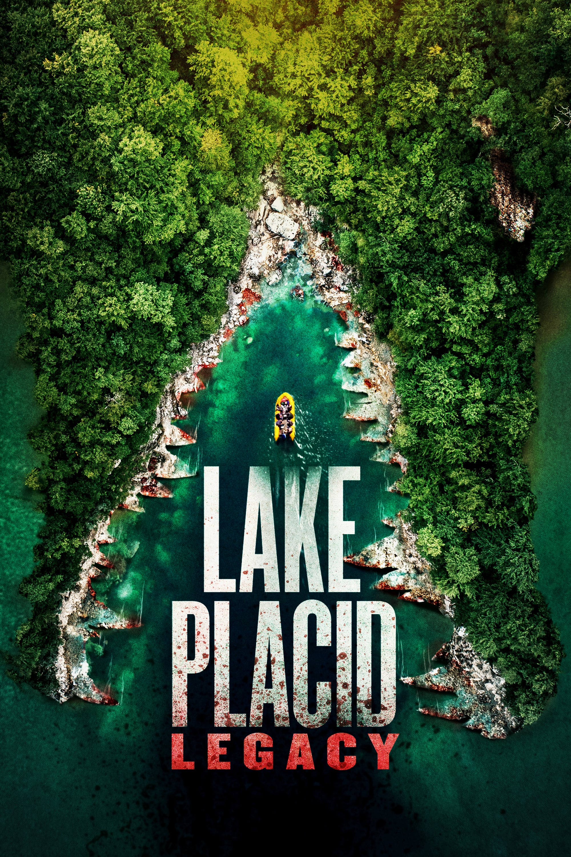 "Poster for the movie ""Lake Placid: Legacy"""