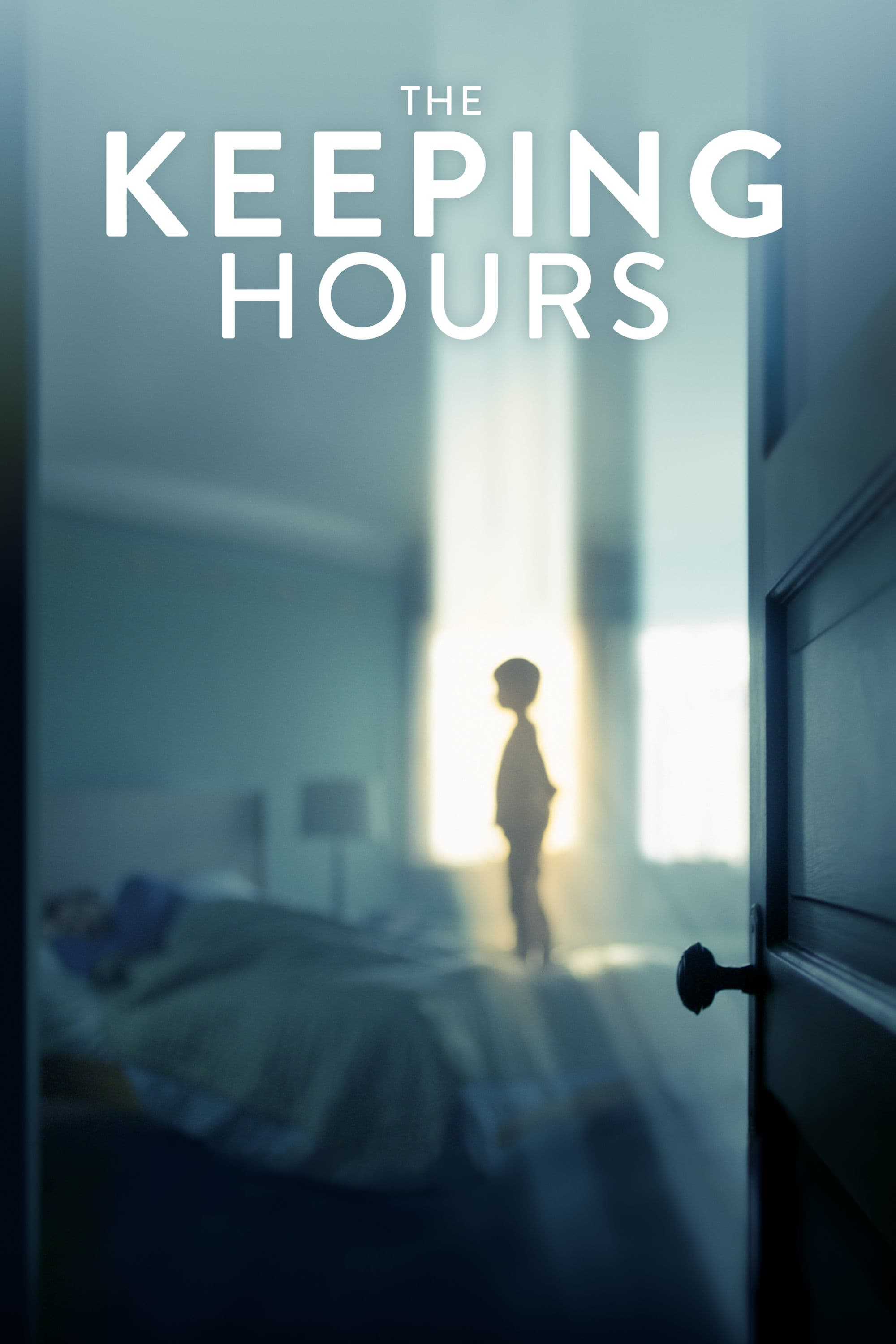 """Poster for the movie """"The Keeping Hours"""""""