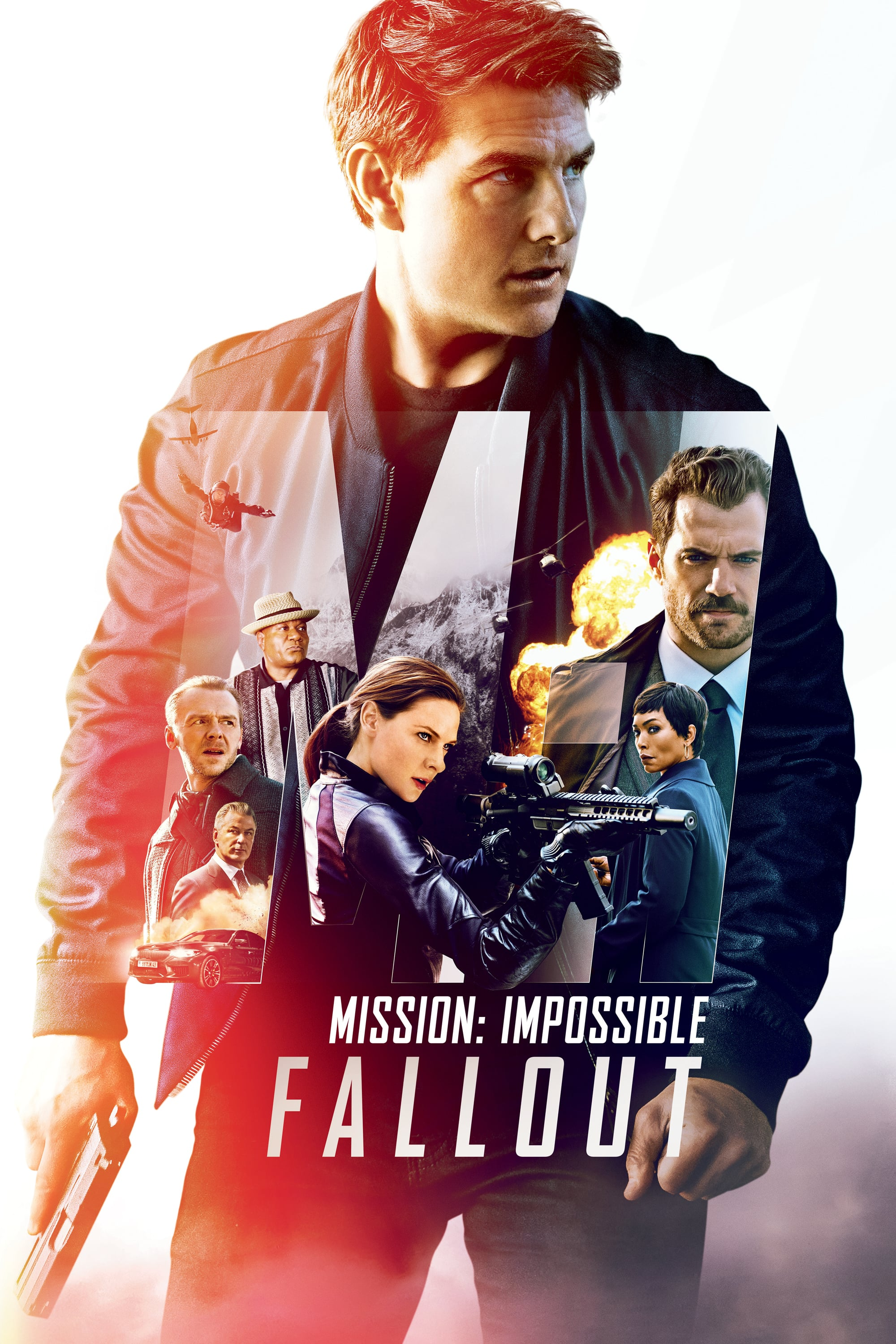 "Poster for the movie ""Mission: Impossible - Fallout"""