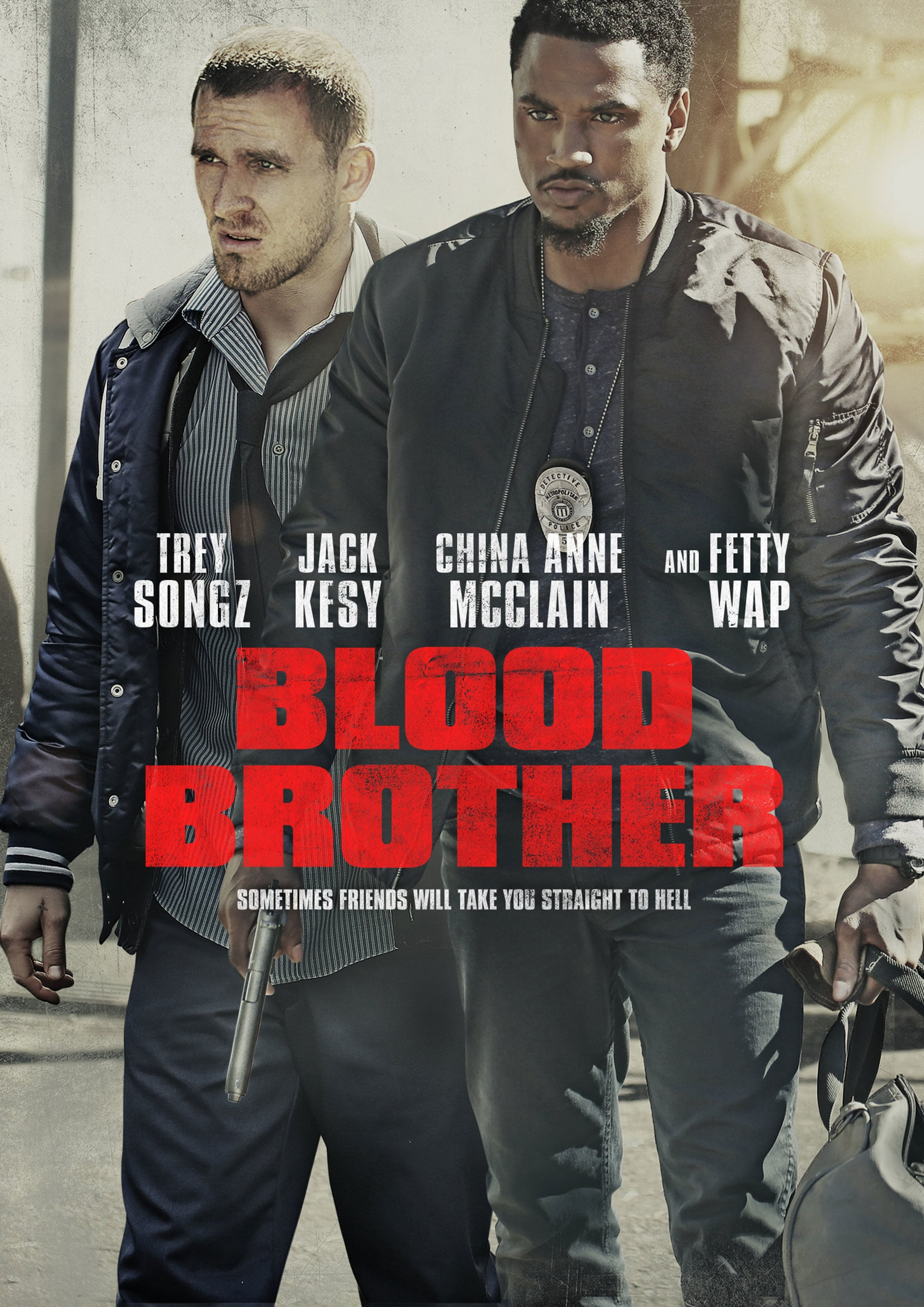 """Poster for the movie """"Blood Brother"""""""