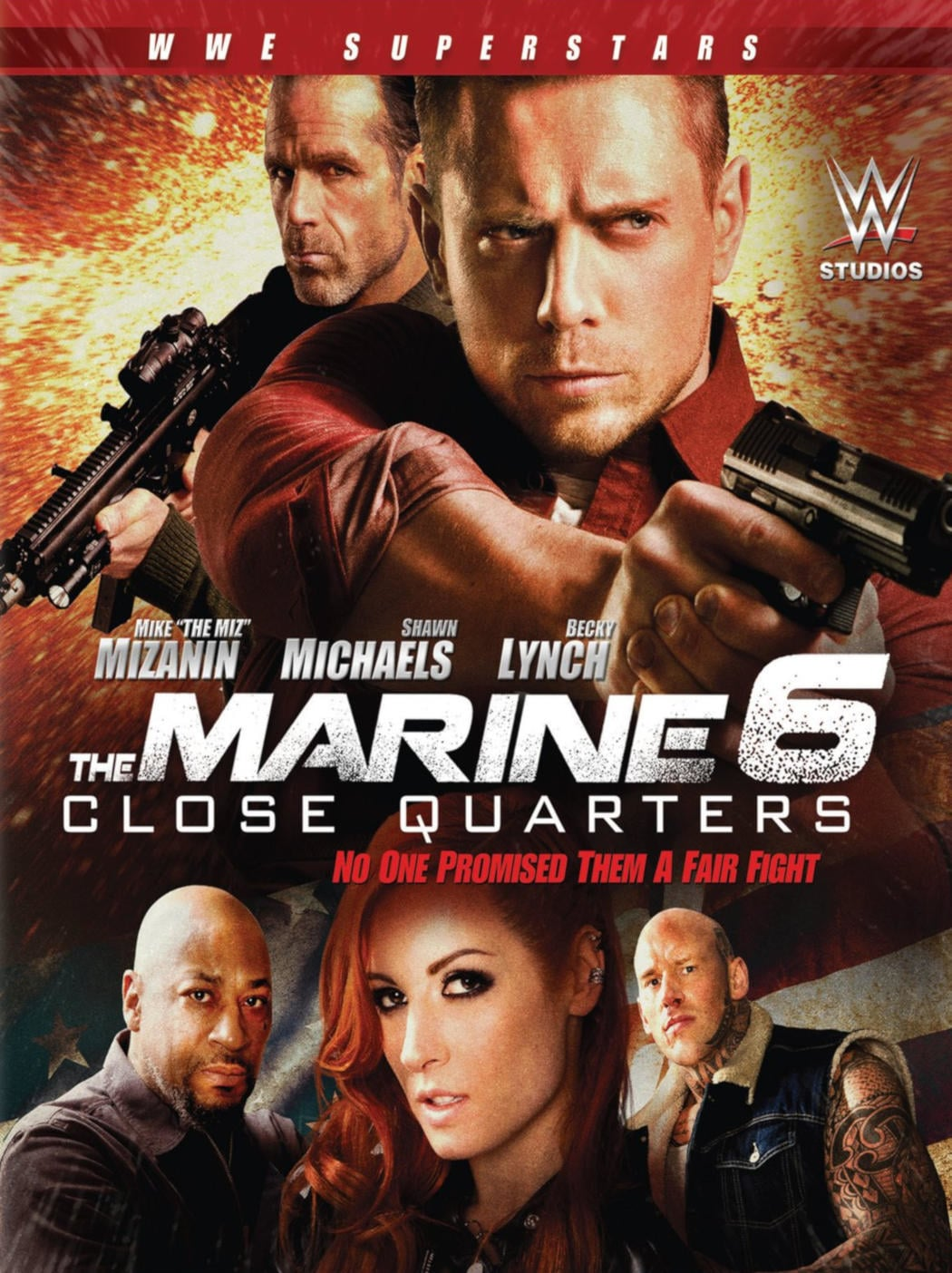 "Poster for the movie ""The Marine 6: Close Quarters"""