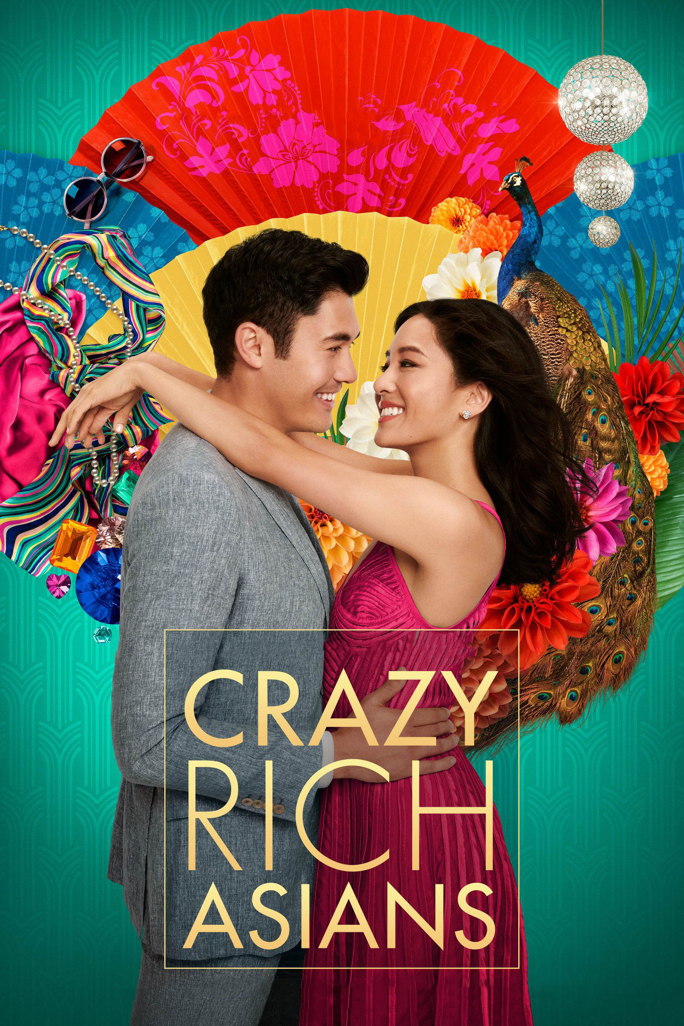 "Poster for the movie ""Crazy Rich Asians"""
