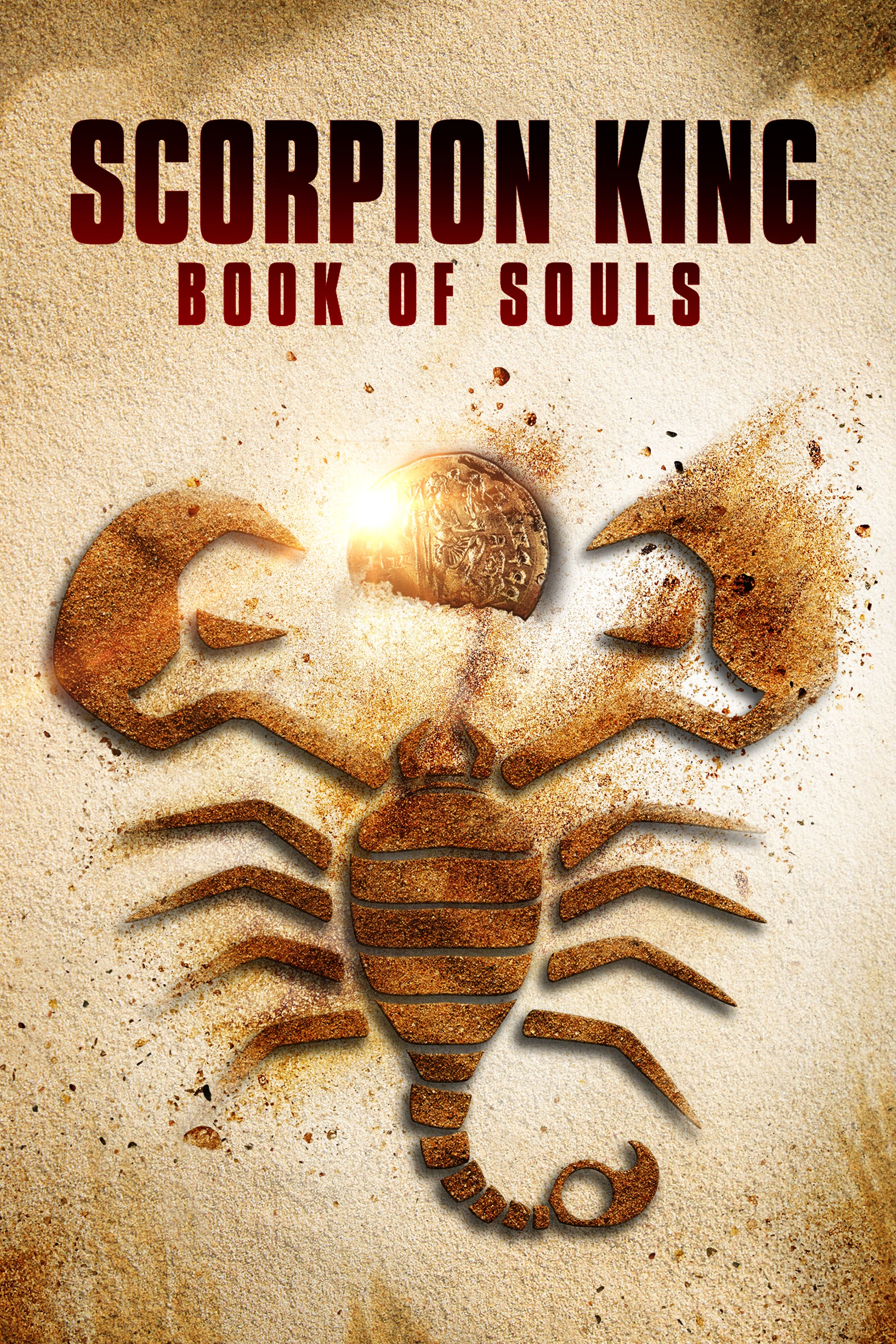 "Poster for the movie ""The Scorpion King: Book of Souls"""