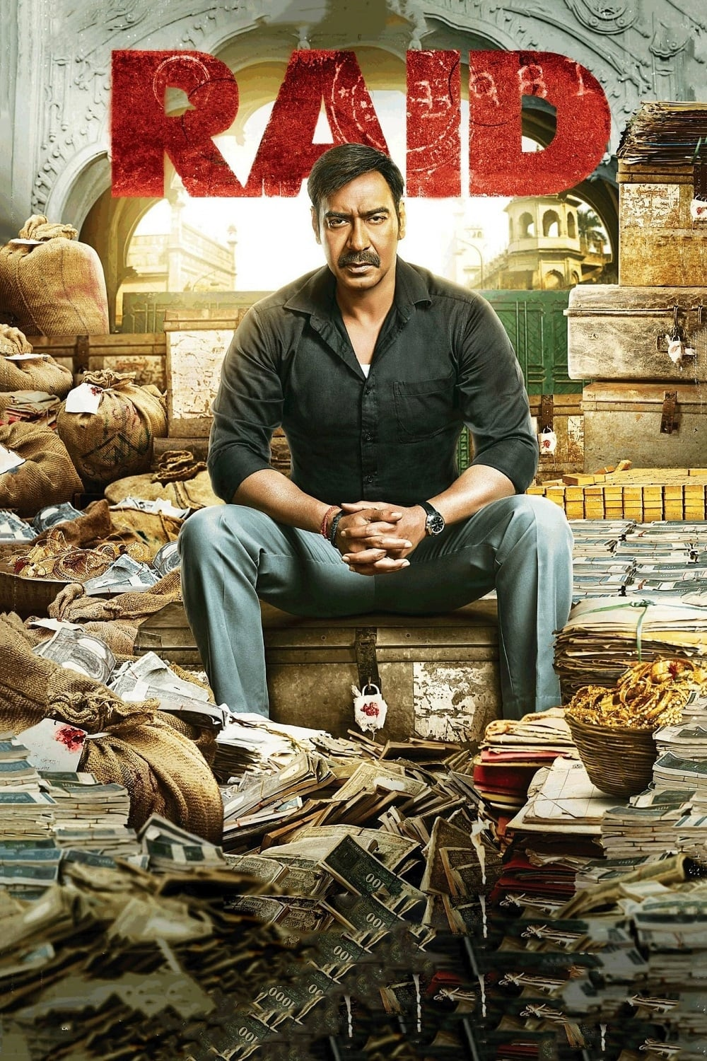 "Poster for the movie ""Raid"""
