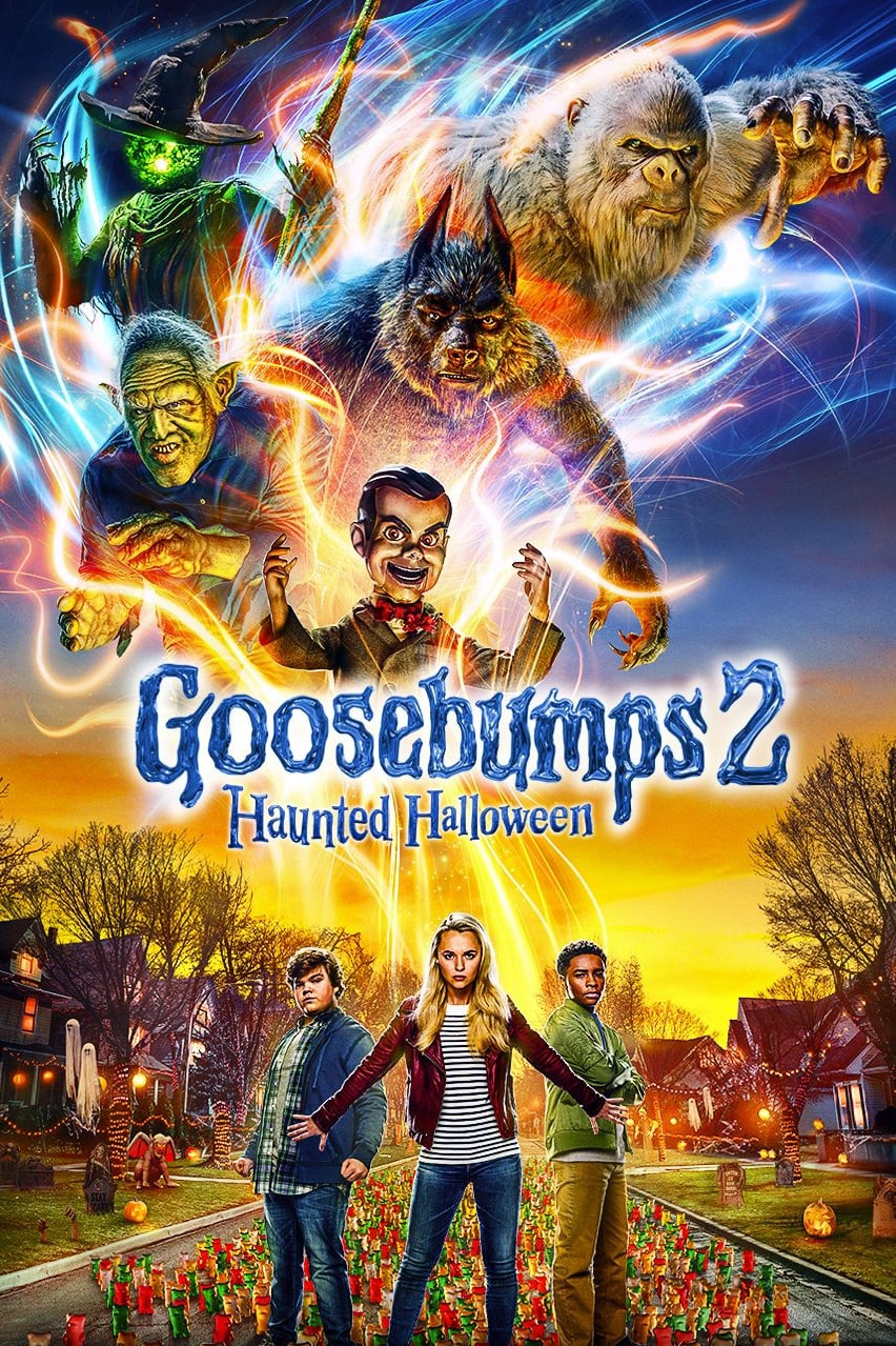 "Poster for the movie ""Goosebumps 2: Haunted Halloween"""