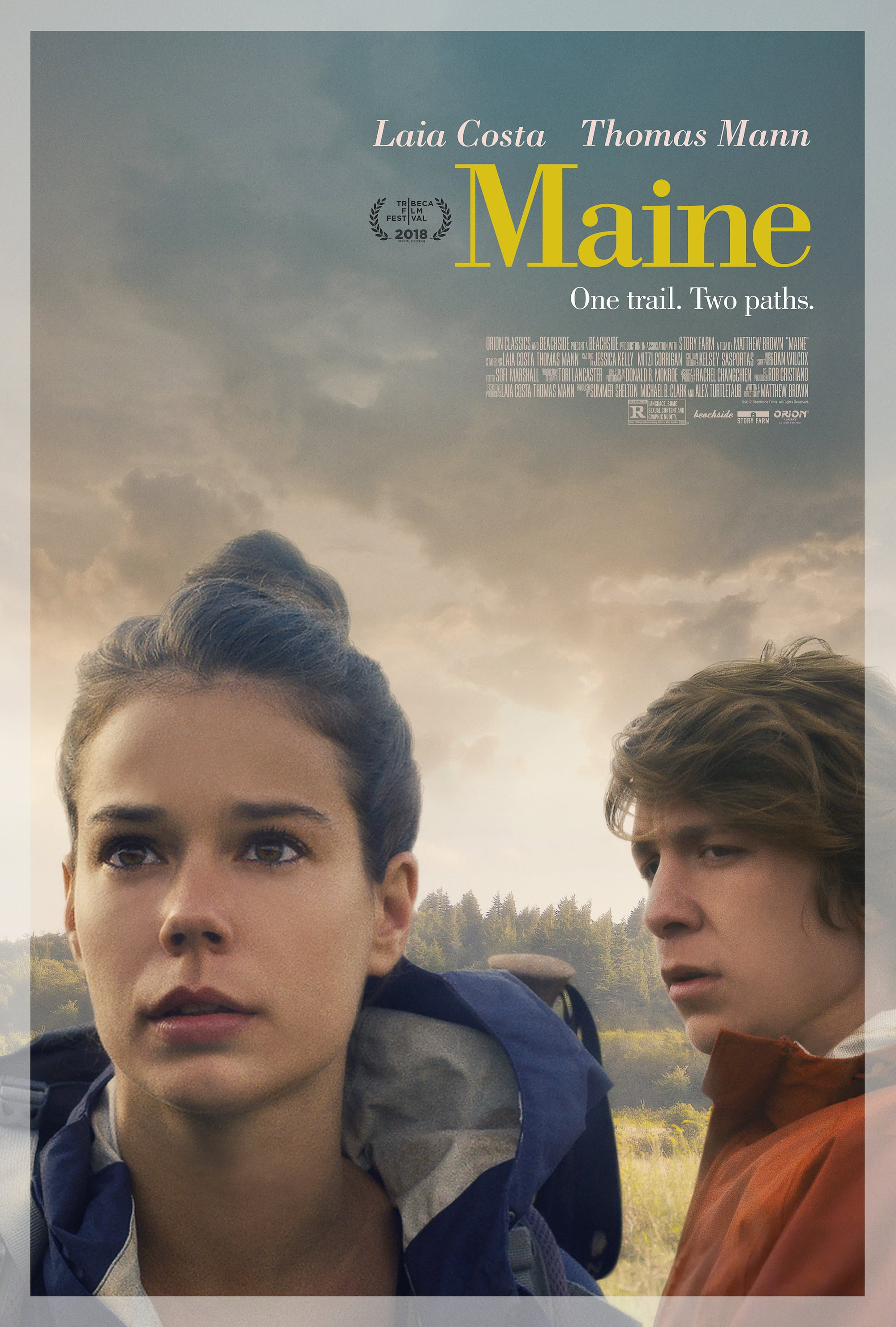 "Poster for the movie ""Maine"""