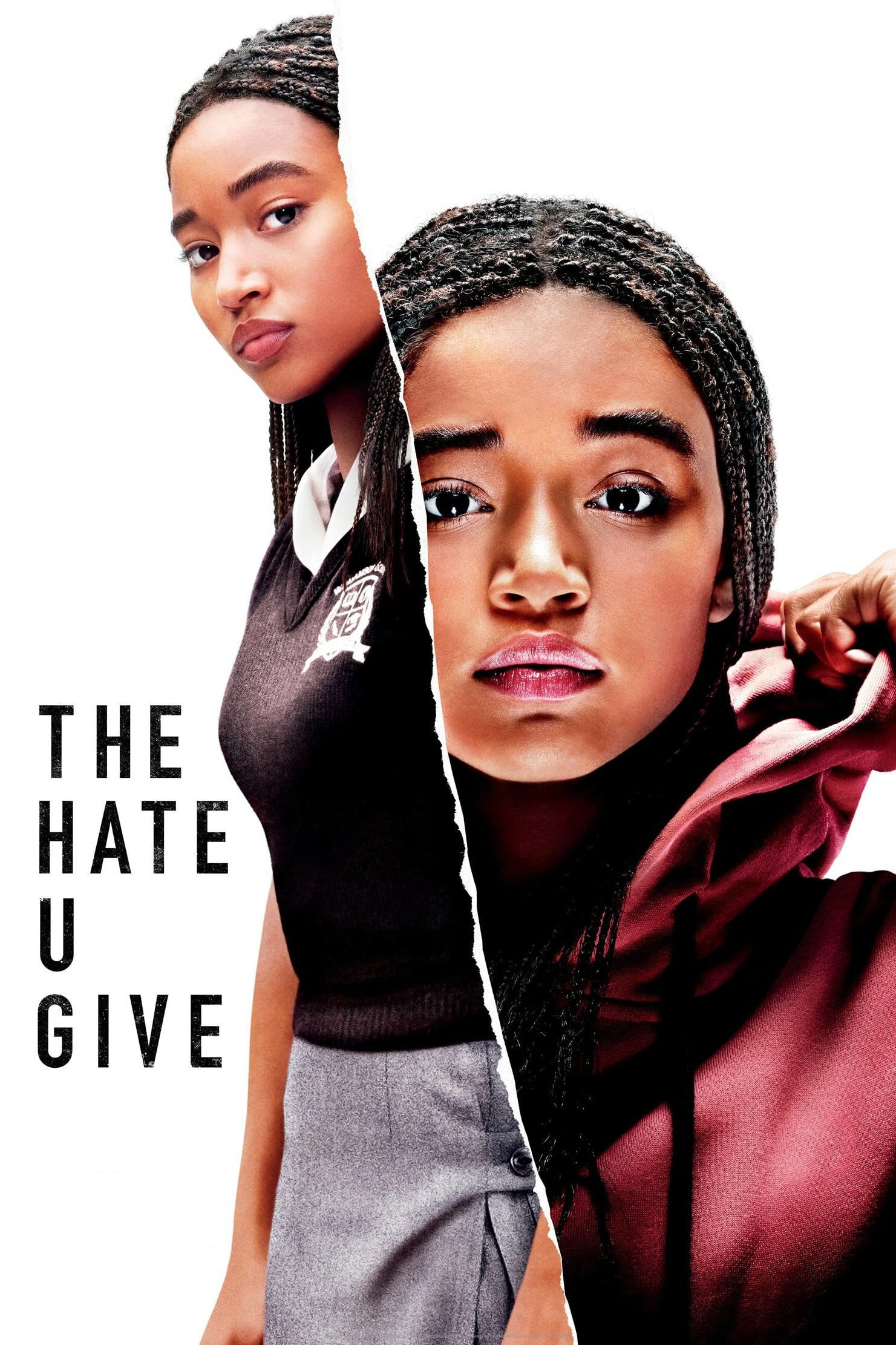 "Poster for the movie ""The Hate U Give"""