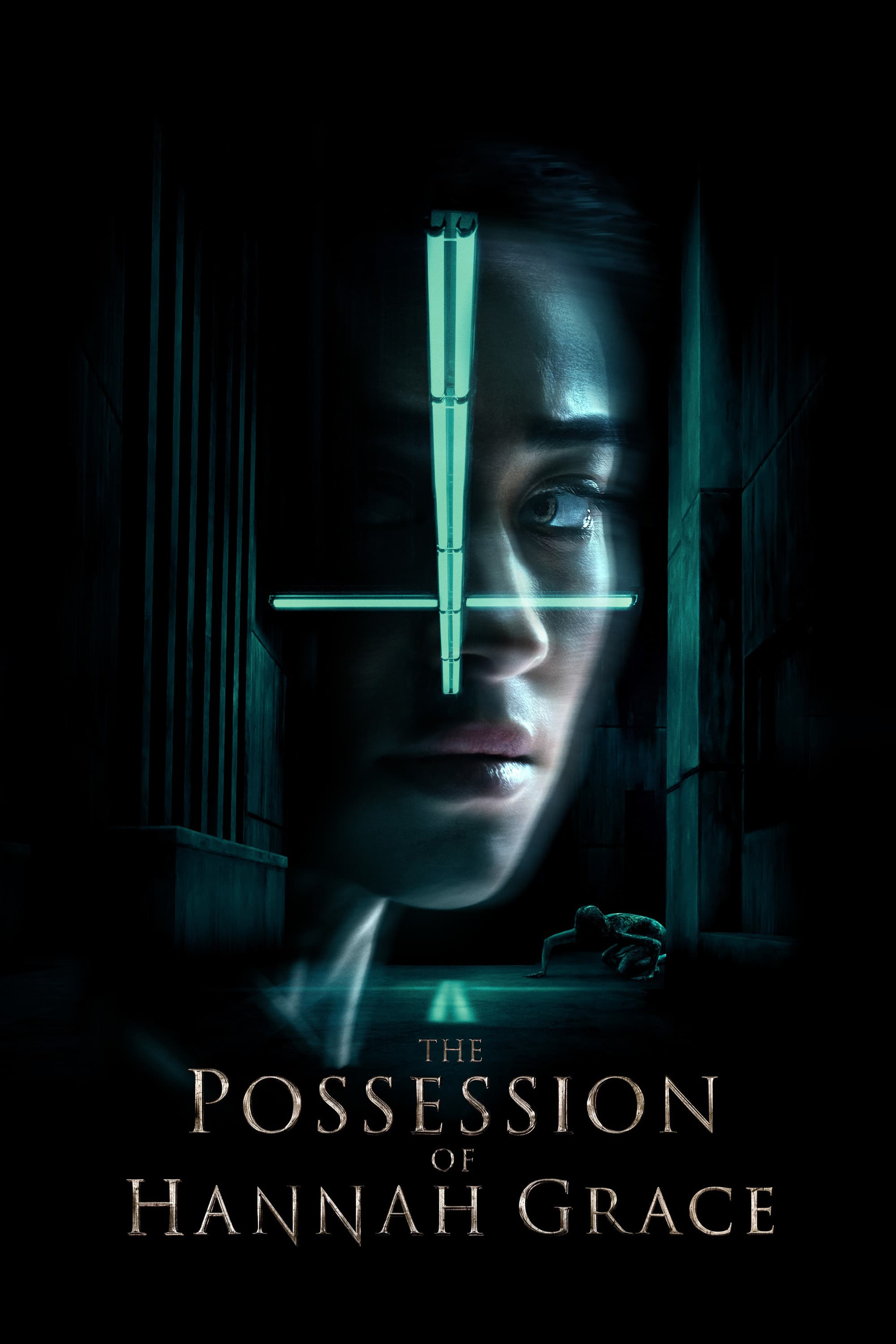"Poster for the movie ""The Possession of Hannah Grace"""