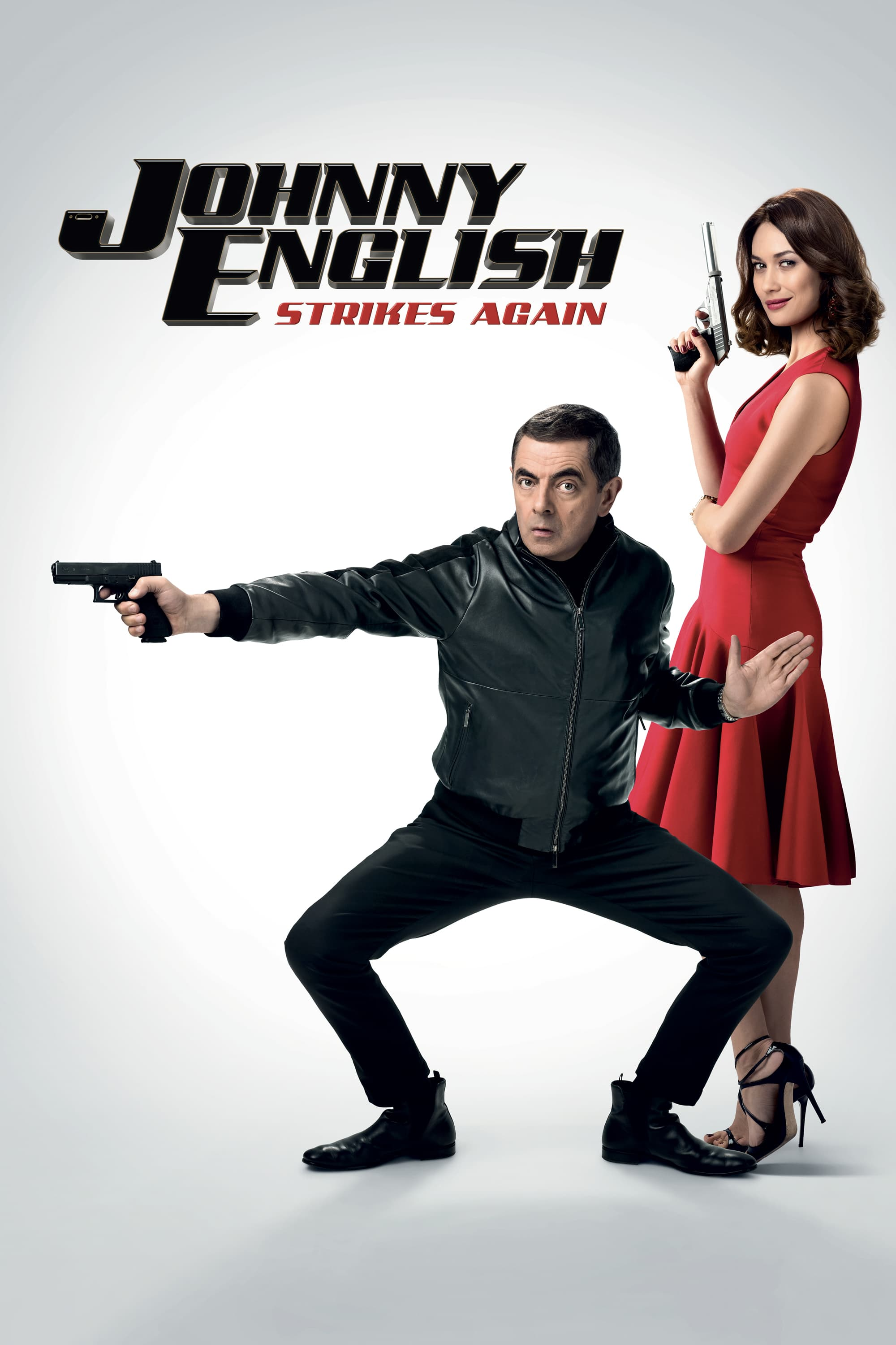 "Poster for the movie ""Johnny English Strikes Again"""
