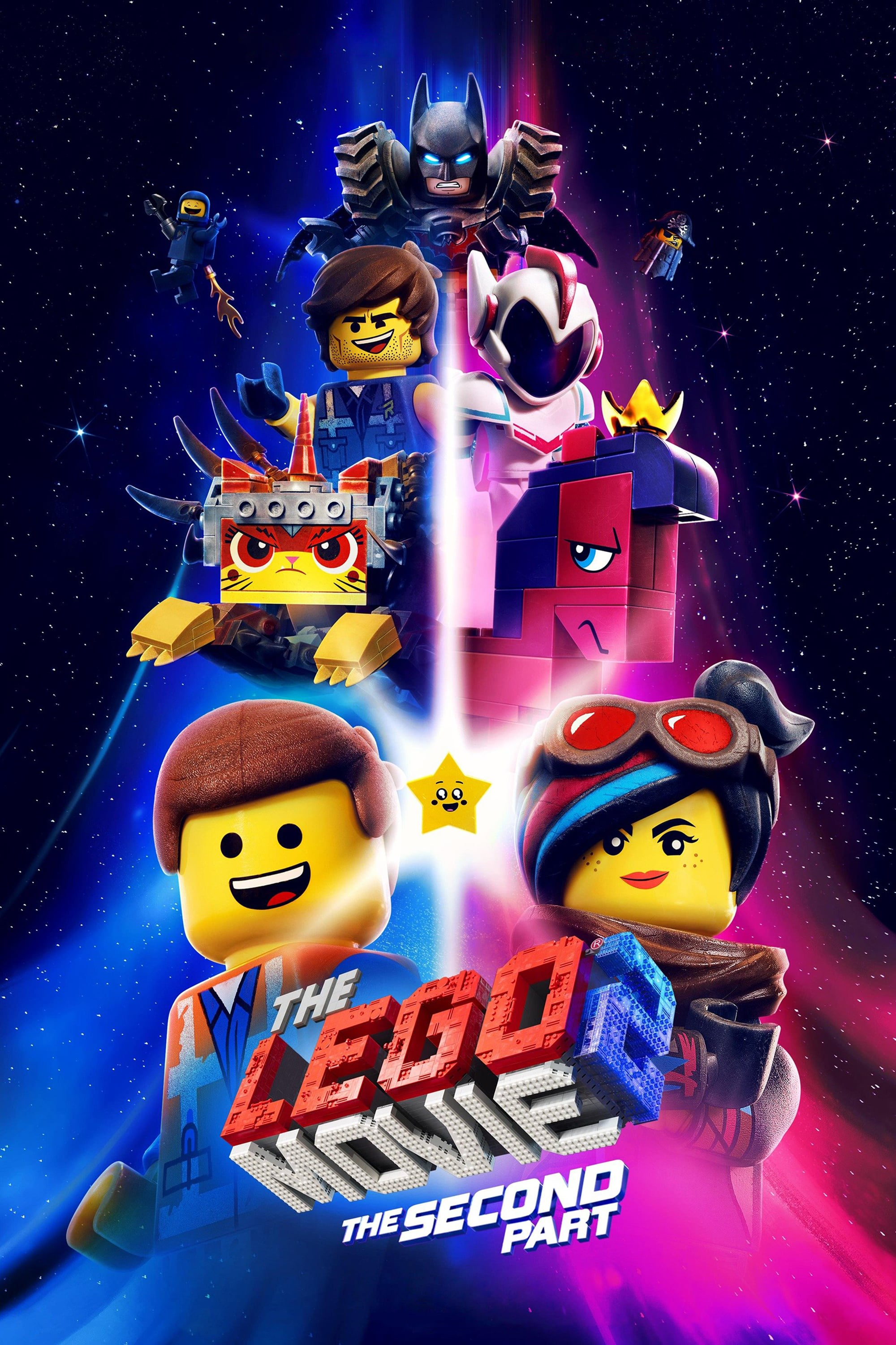 "Poster for the movie ""The Lego Movie 2: The Second Part"""