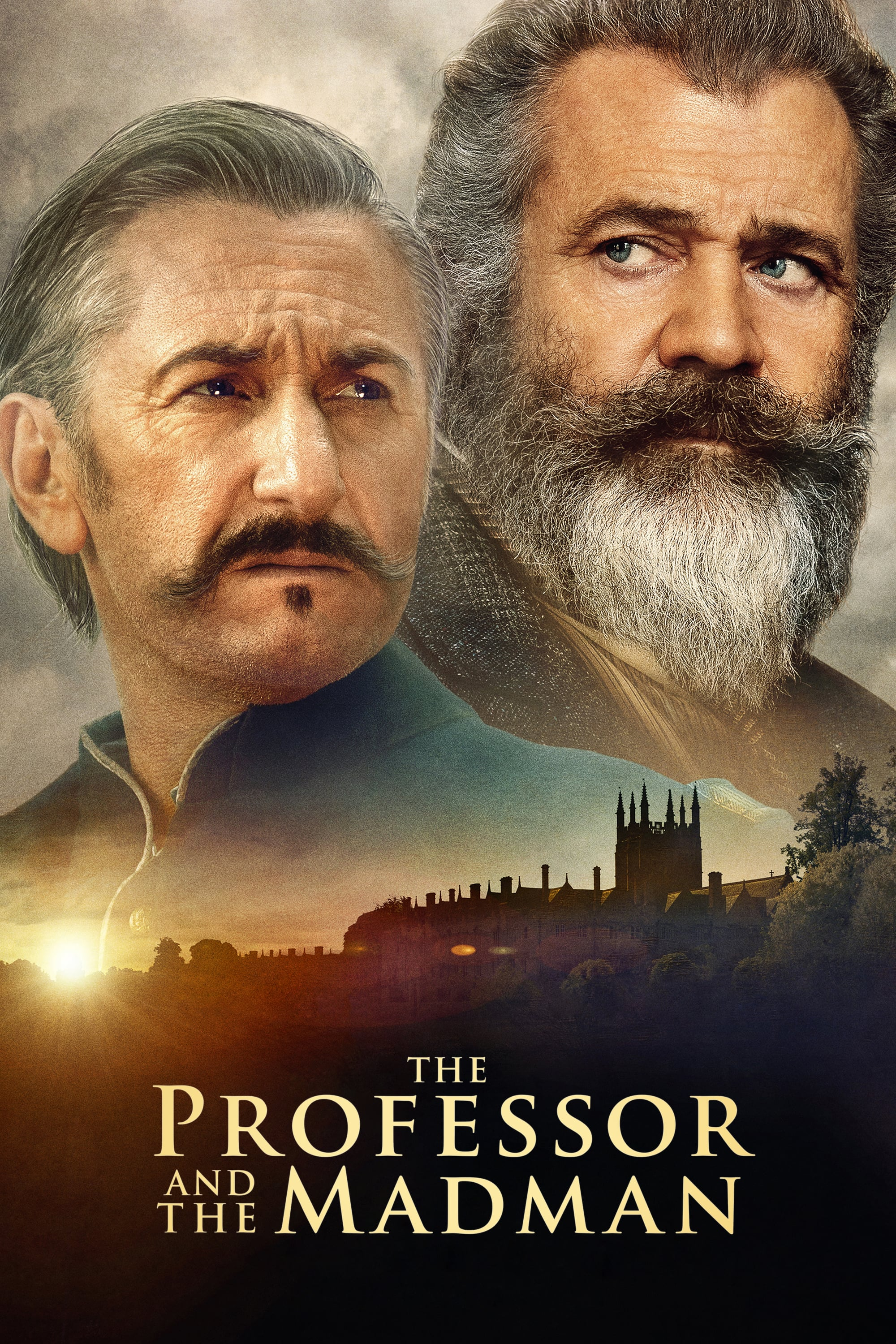 "Poster for the movie ""The Professor and the Madman"""