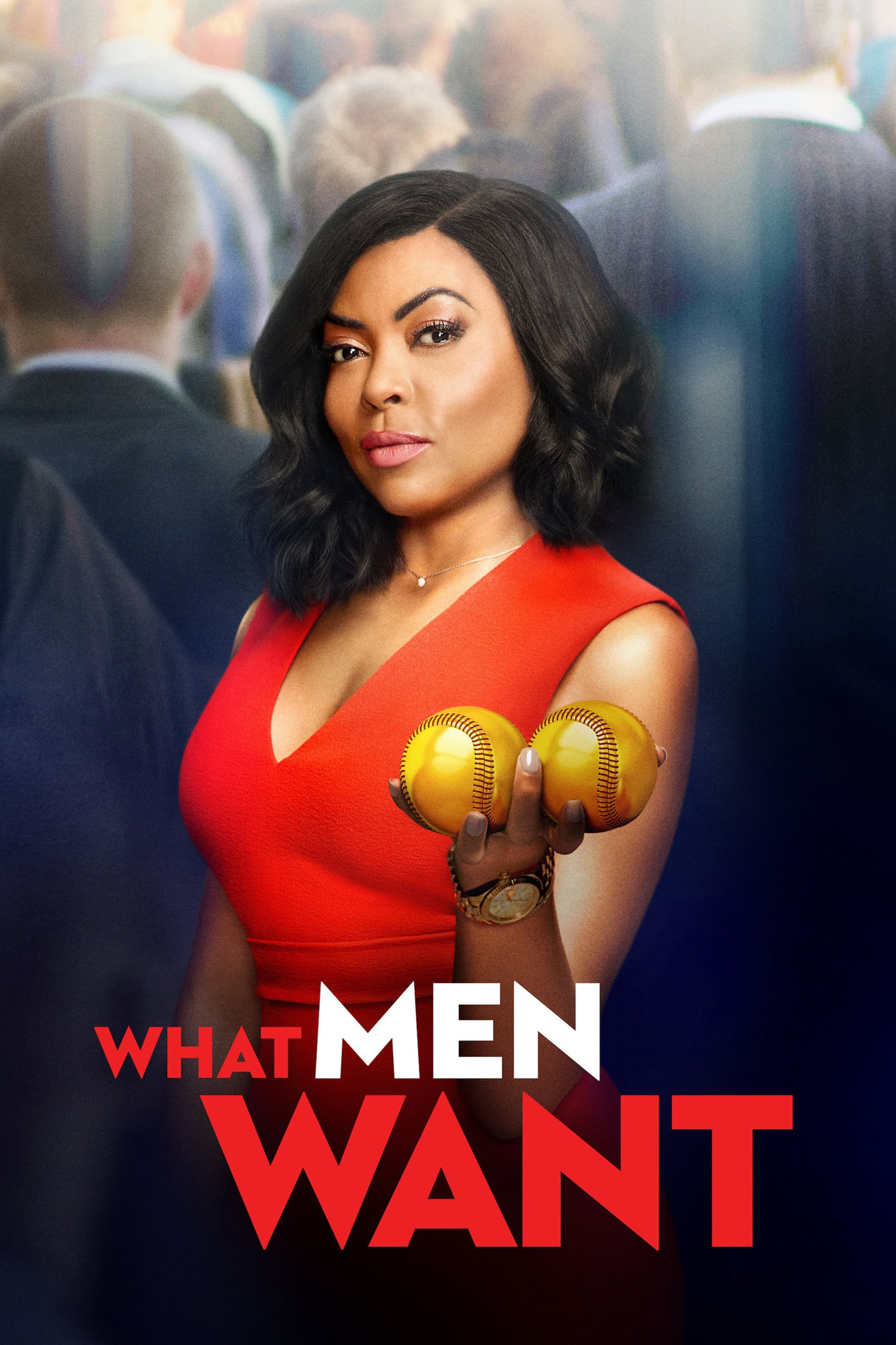 "Poster for the movie ""What Men Want"""