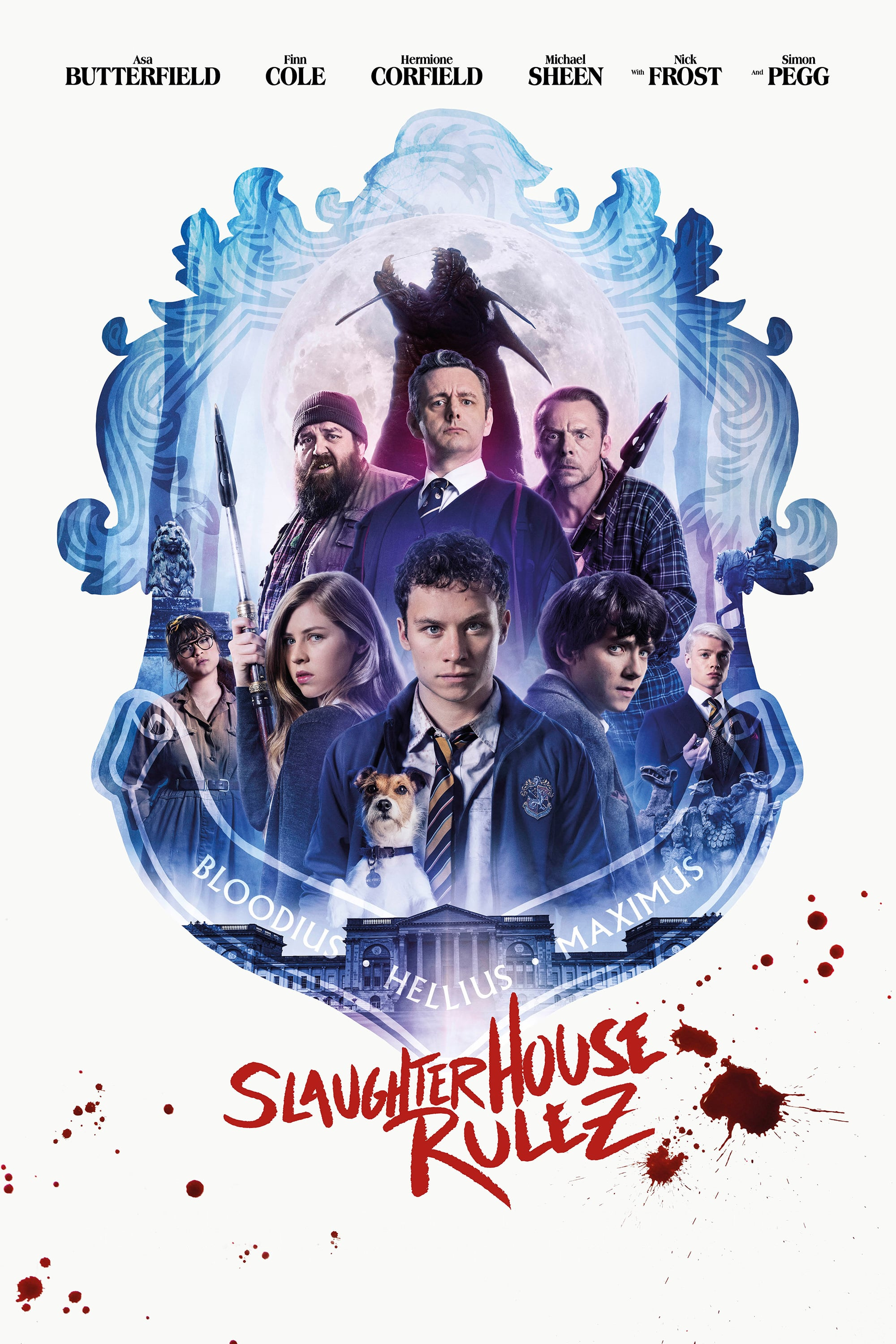 "Poster for the movie ""Slaughterhouse Rulez"""