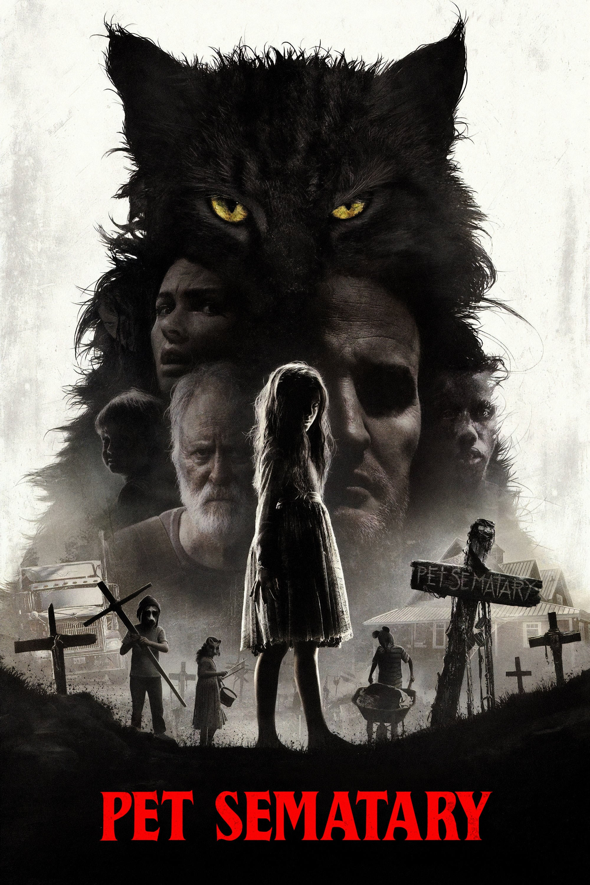 "Poster for the movie ""Pet Sematary"""