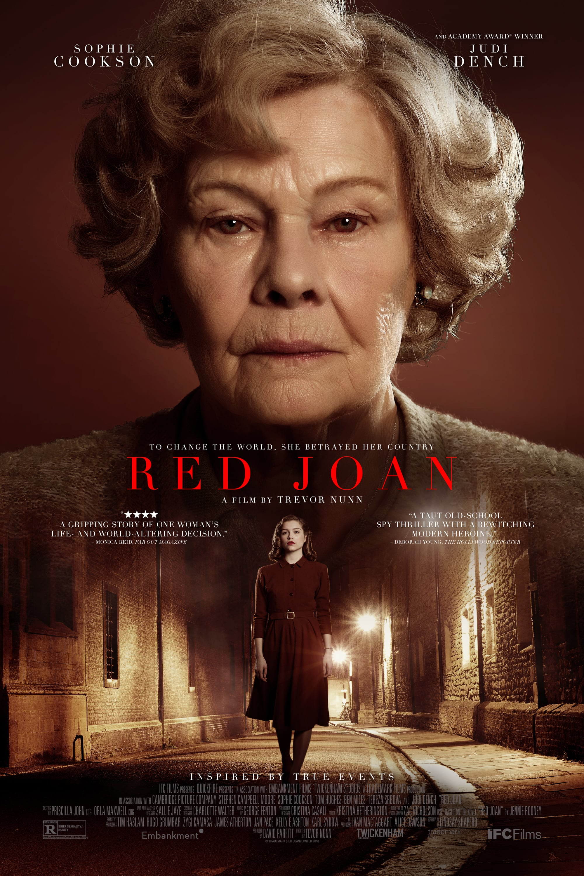 "Poster for the movie ""Red Joan"""