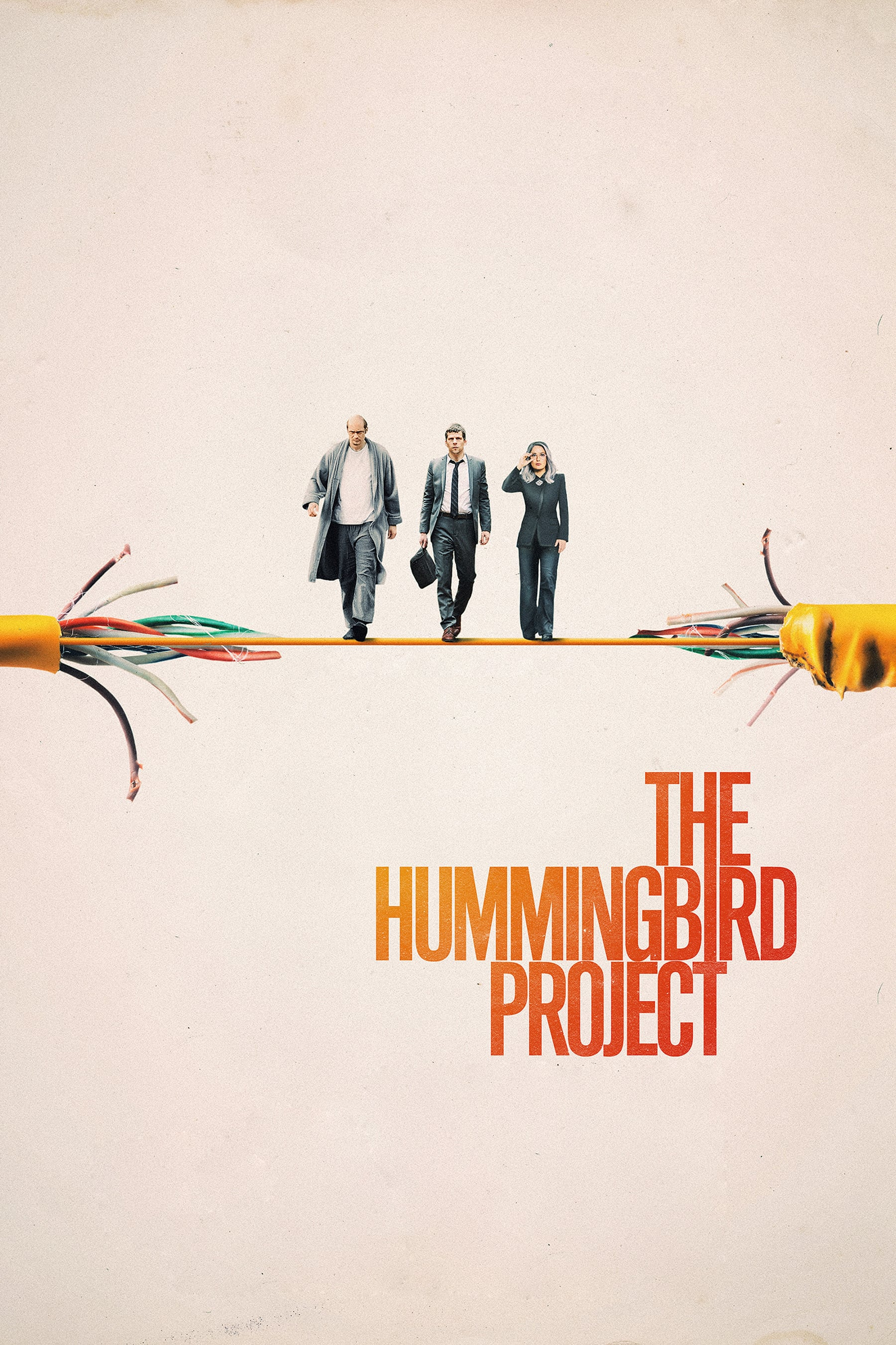 "Poster for the movie ""The Hummingbird Project"""