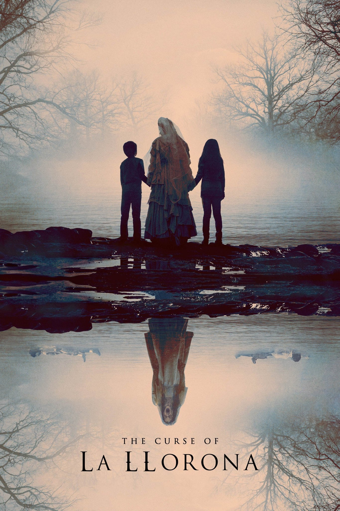 "Poster for the movie ""The Curse of La Llorona"""
