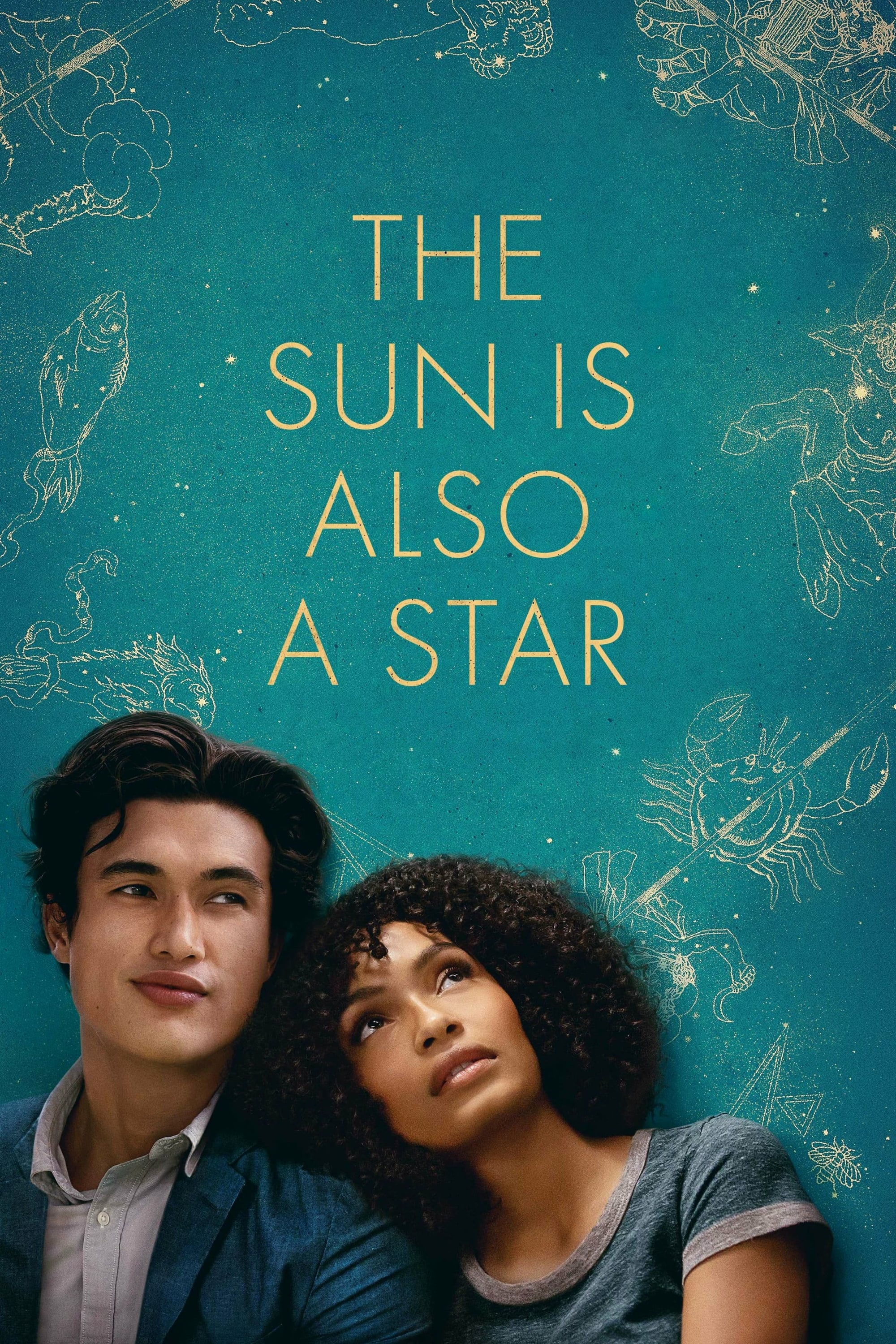 """Poster for the movie """"The Sun Is Also a Star"""""""