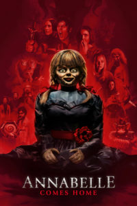 "Poster for the movie ""Annabelle Comes Home"""