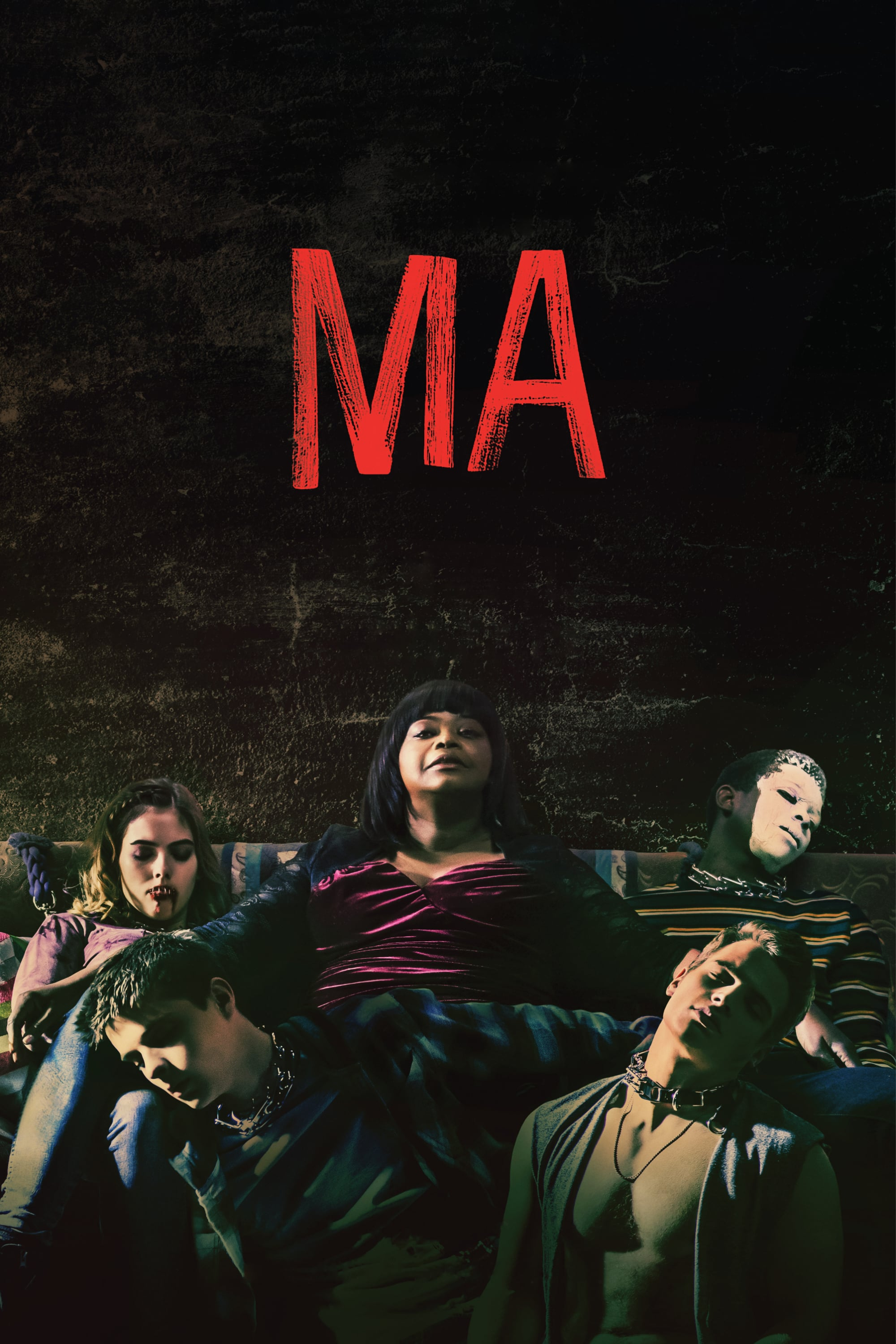"Poster for the movie ""Ma"""