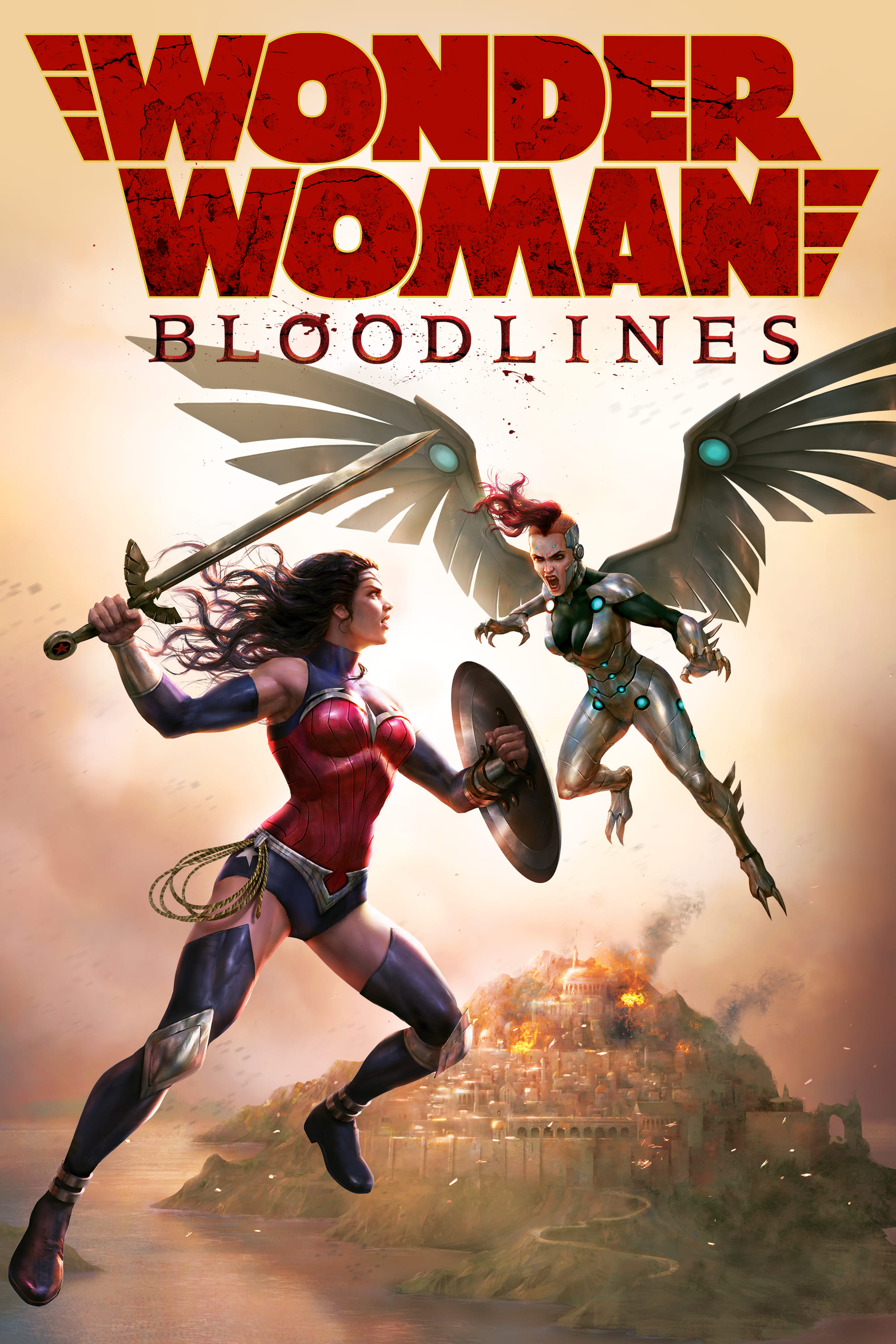 """Poster for the movie """"Wonder Woman: Bloodlines"""""""
