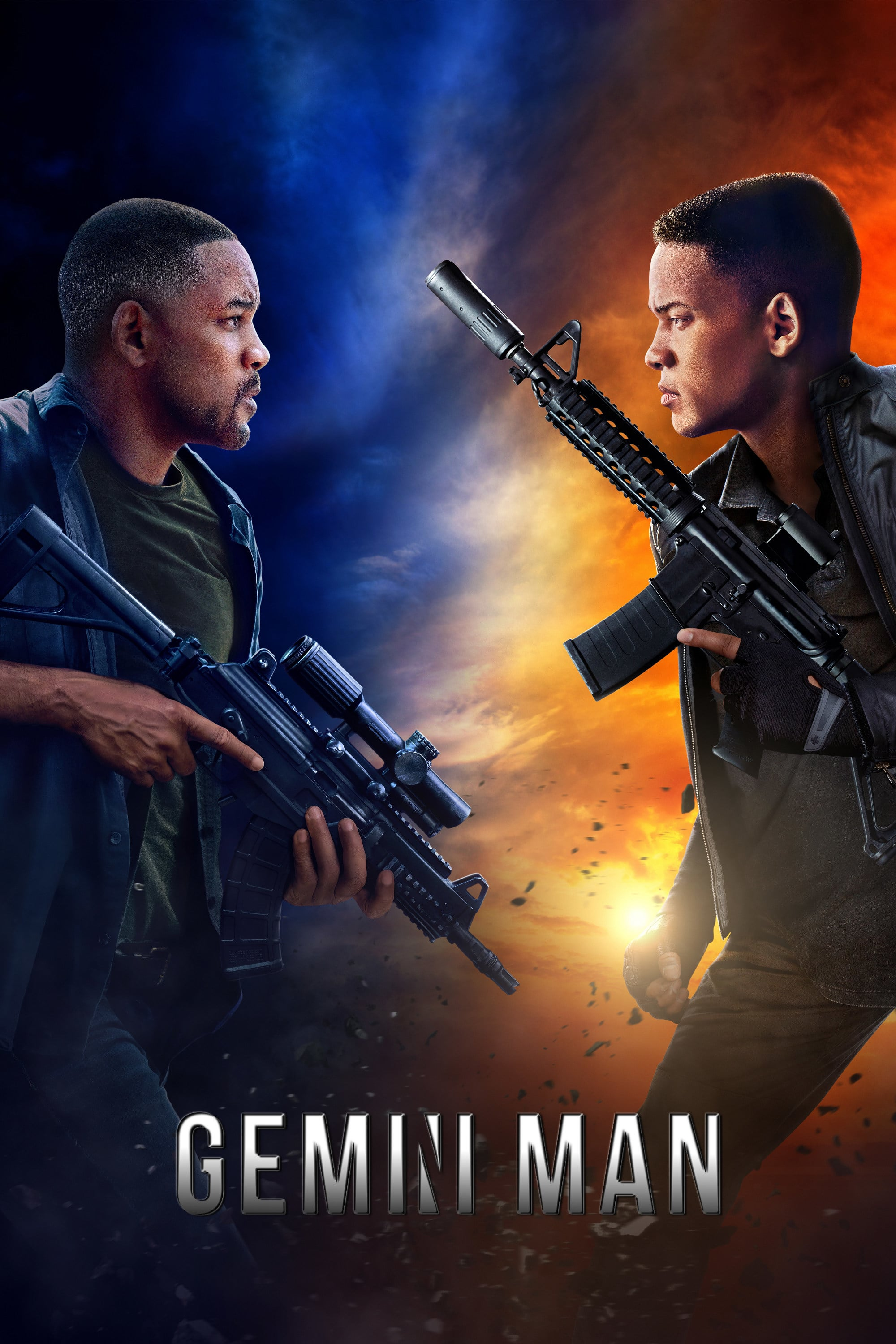 """Poster for the movie """"Gemini Man"""""""