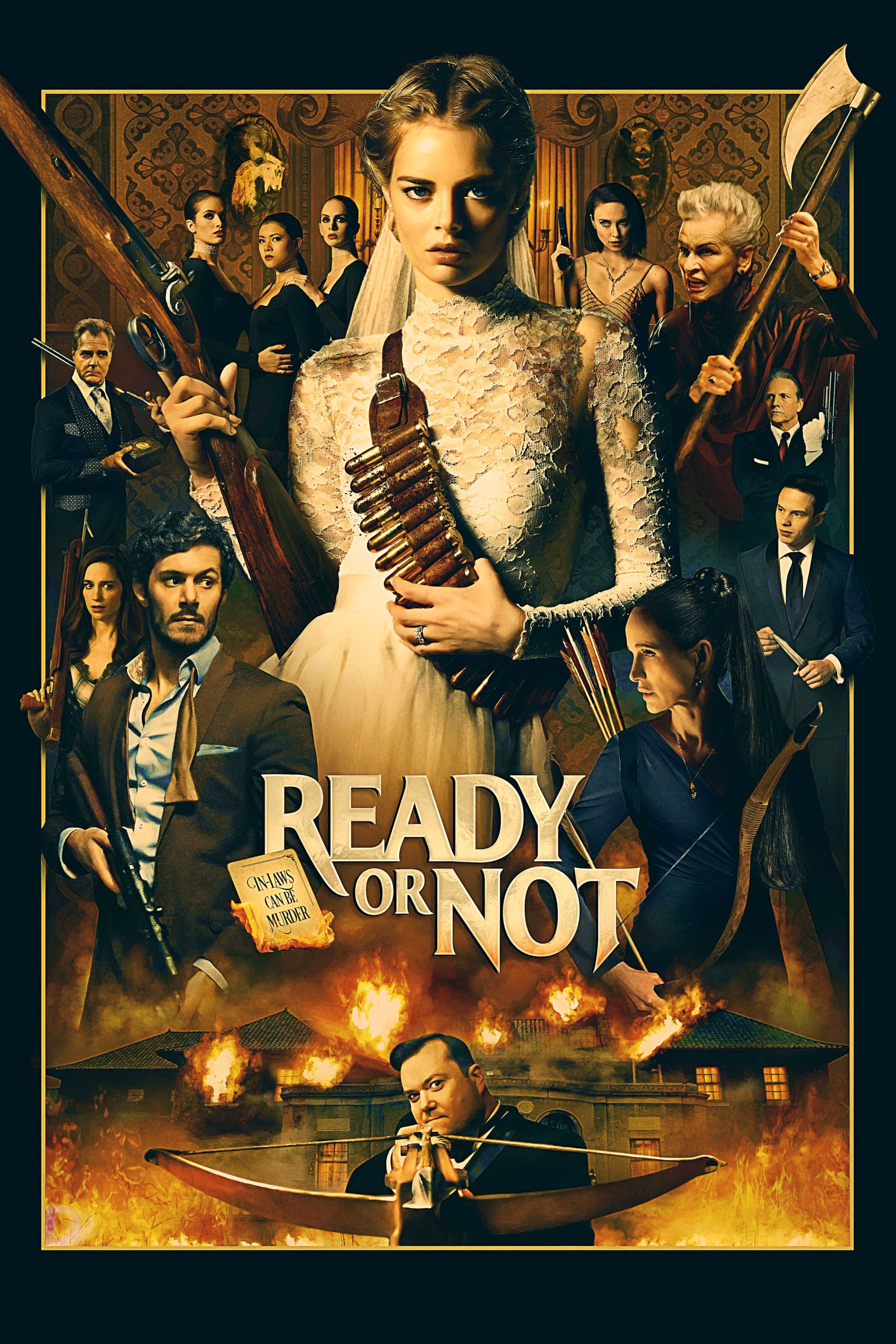 "Poster for the movie ""Ready or Not"""