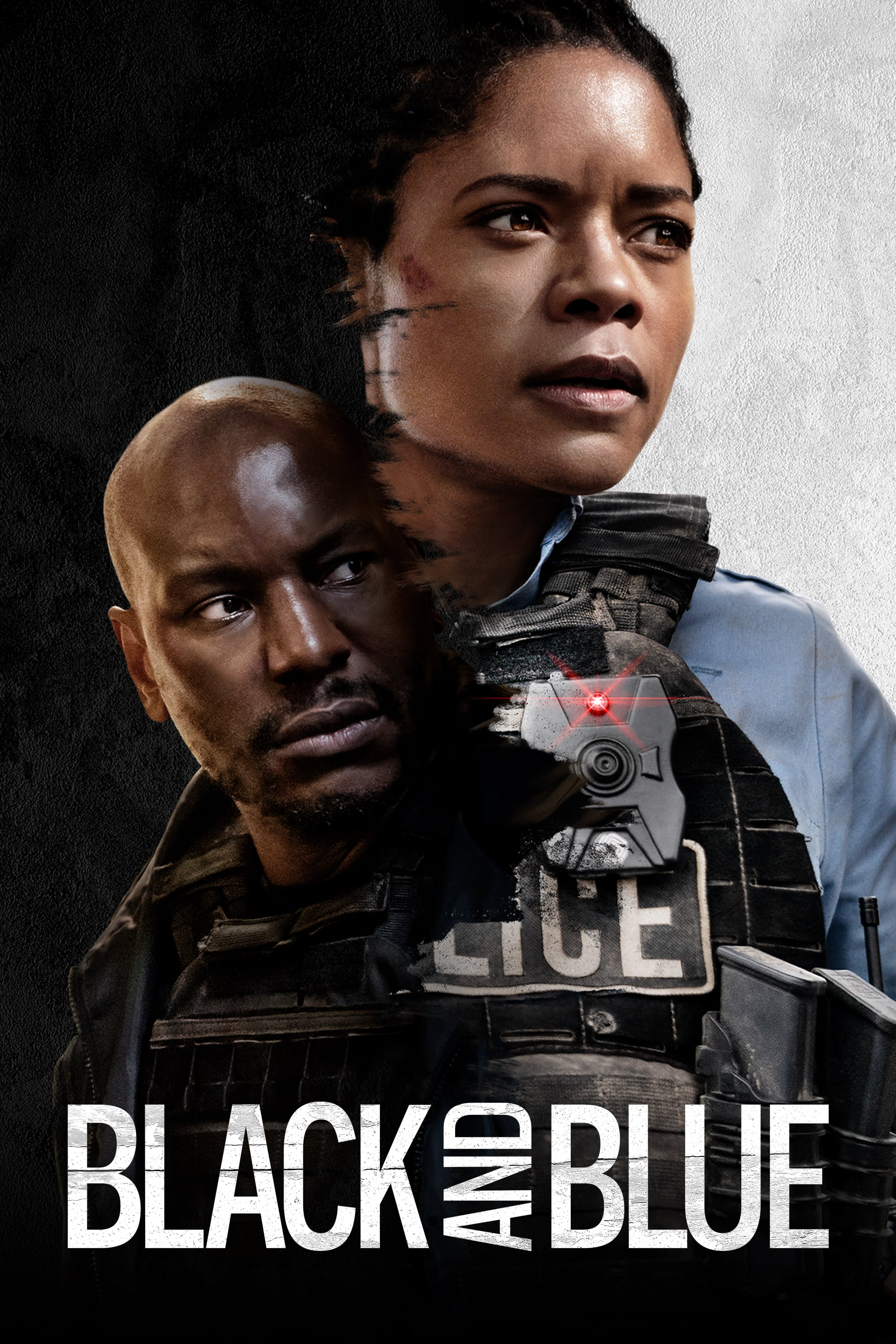 """Poster for the movie """"Black and Blue"""""""