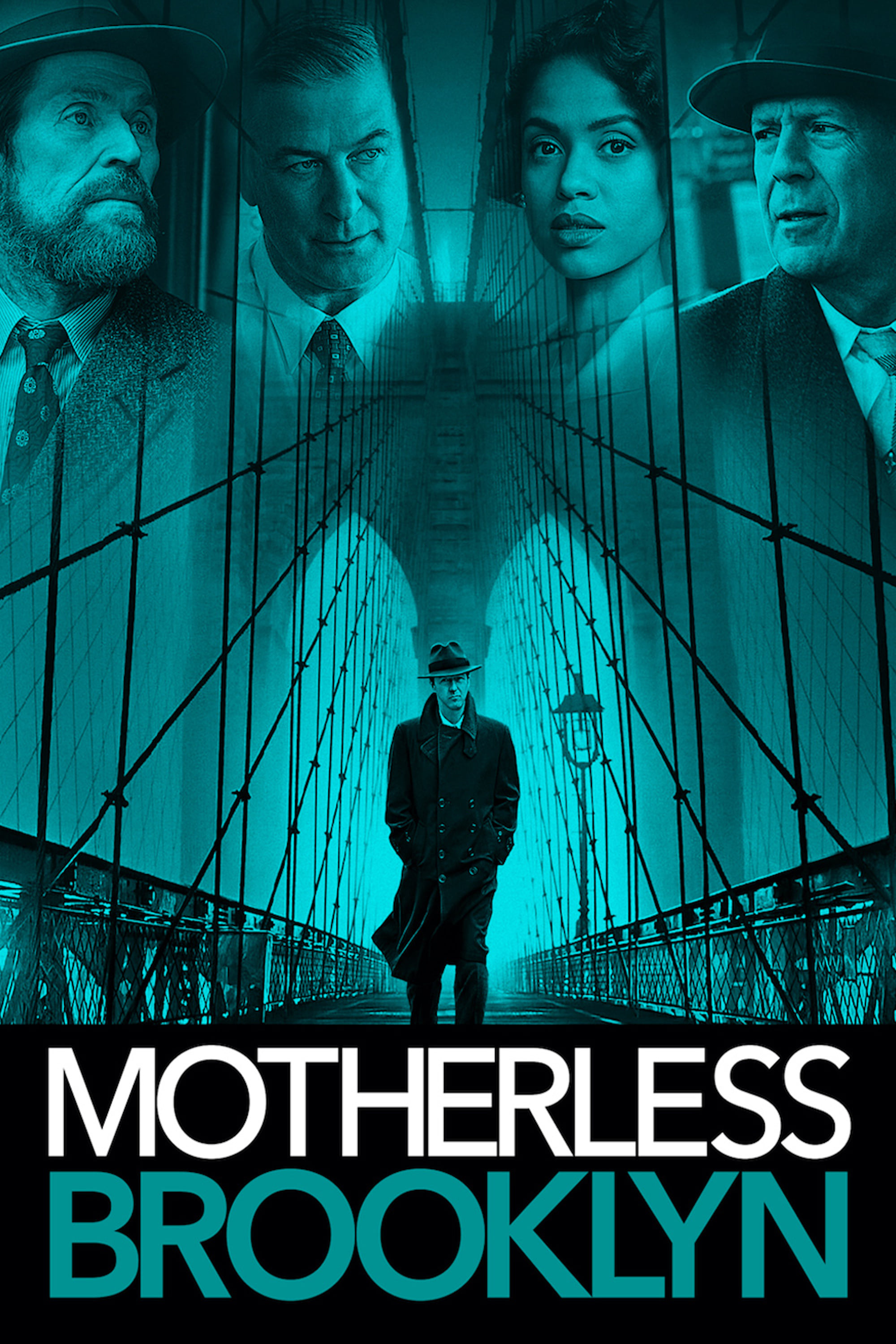 "Poster for the movie ""Motherless Brooklyn"""