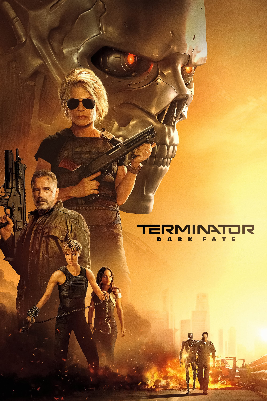 "Poster for the movie ""Terminator: Dark Fate"""