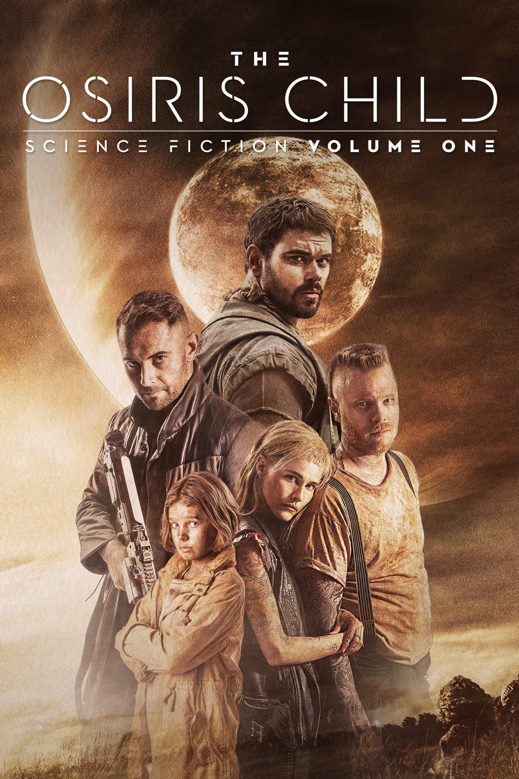 """Poster for the movie """"The Osiris Child"""""""