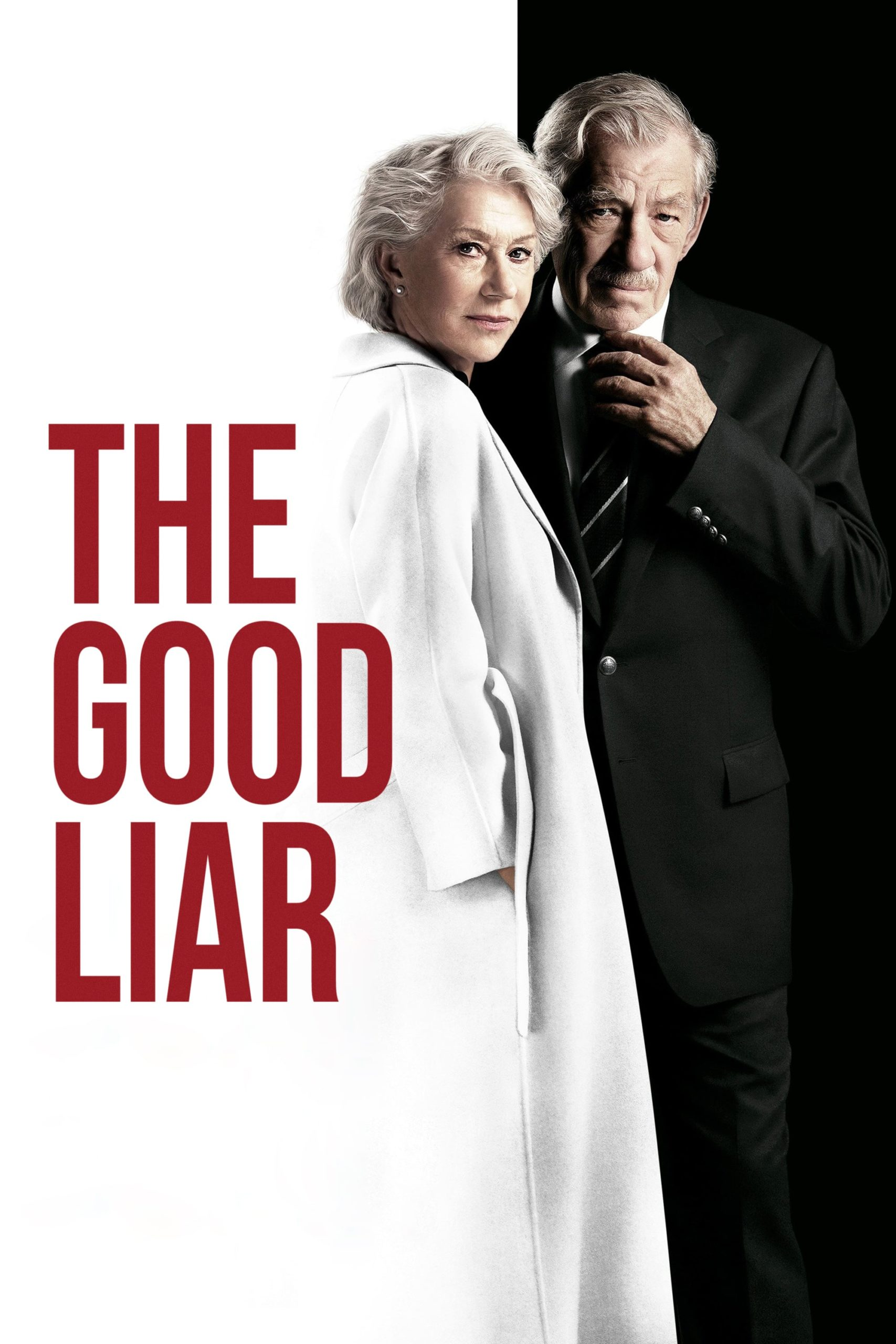 """Poster for the movie """"The Good Liar"""""""